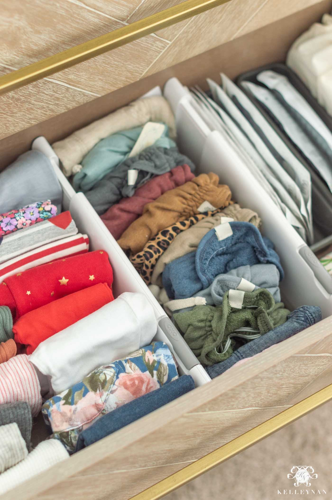Nursery Dresser Drawer Organizers