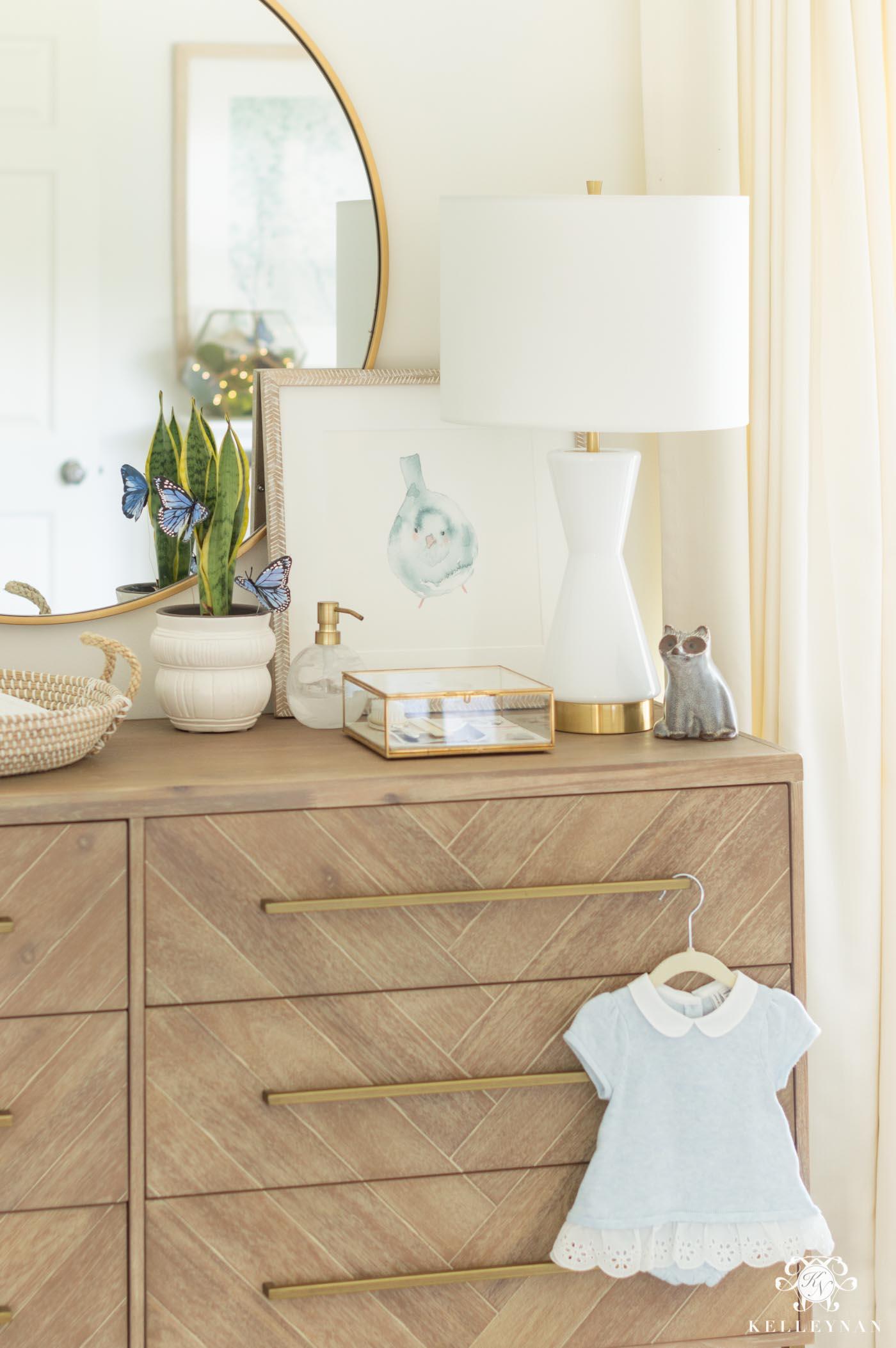 Blue Baby Girl Nursery Ideas and Decor
