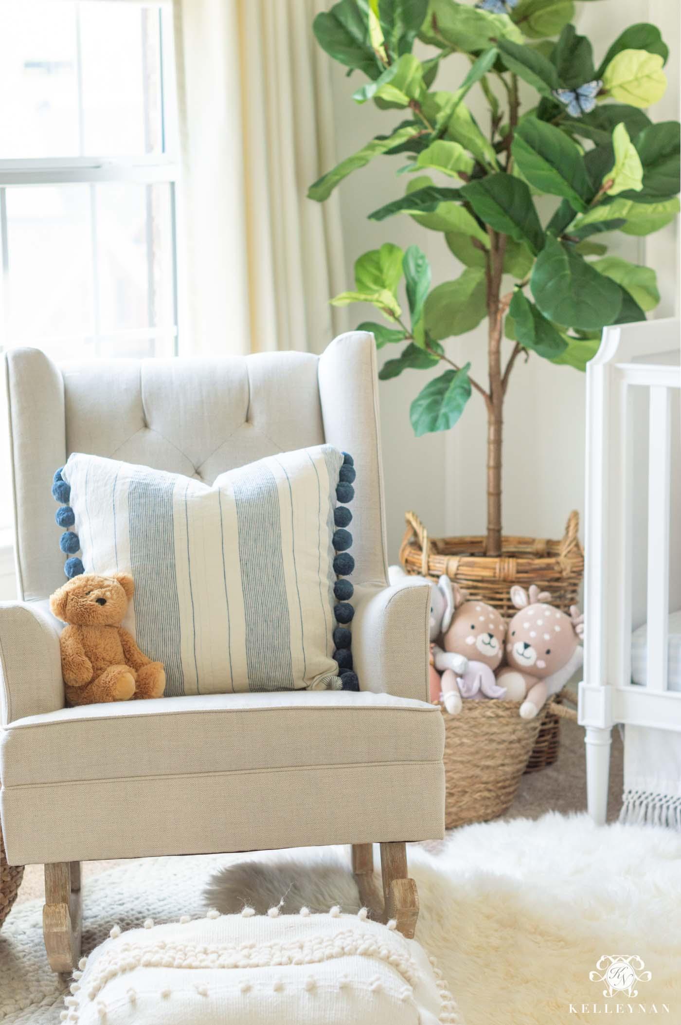 Blue Baby Girl Room Ideas