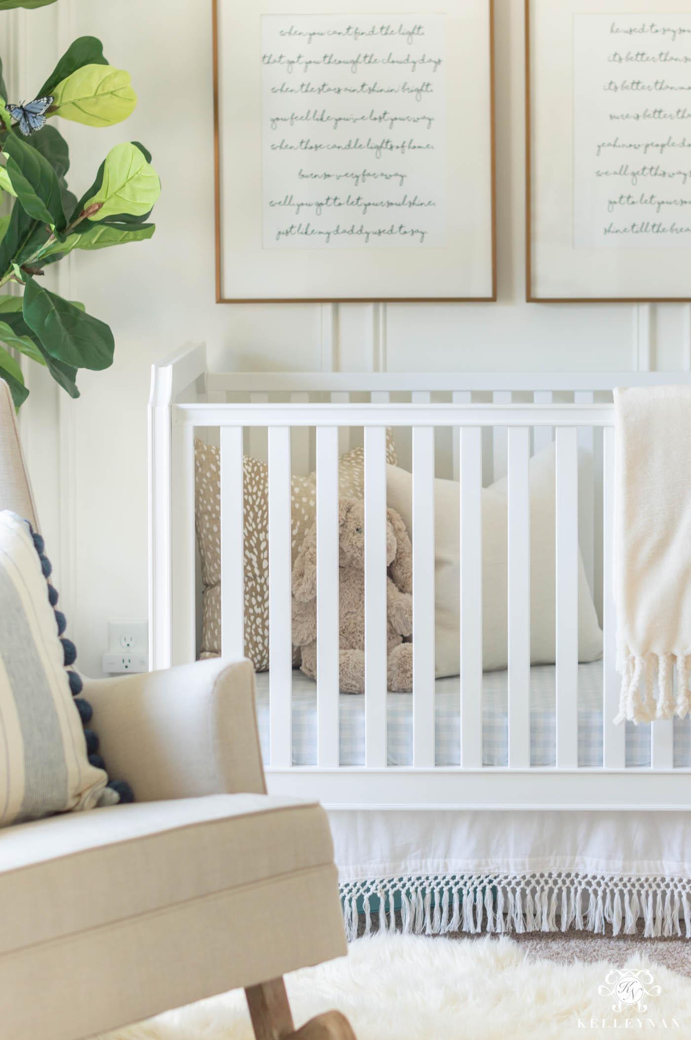 Blue Baby Girl Nursery Ideas