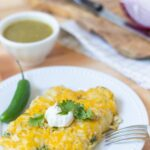 Delicious Chicken Enchiladas Verde Recipe