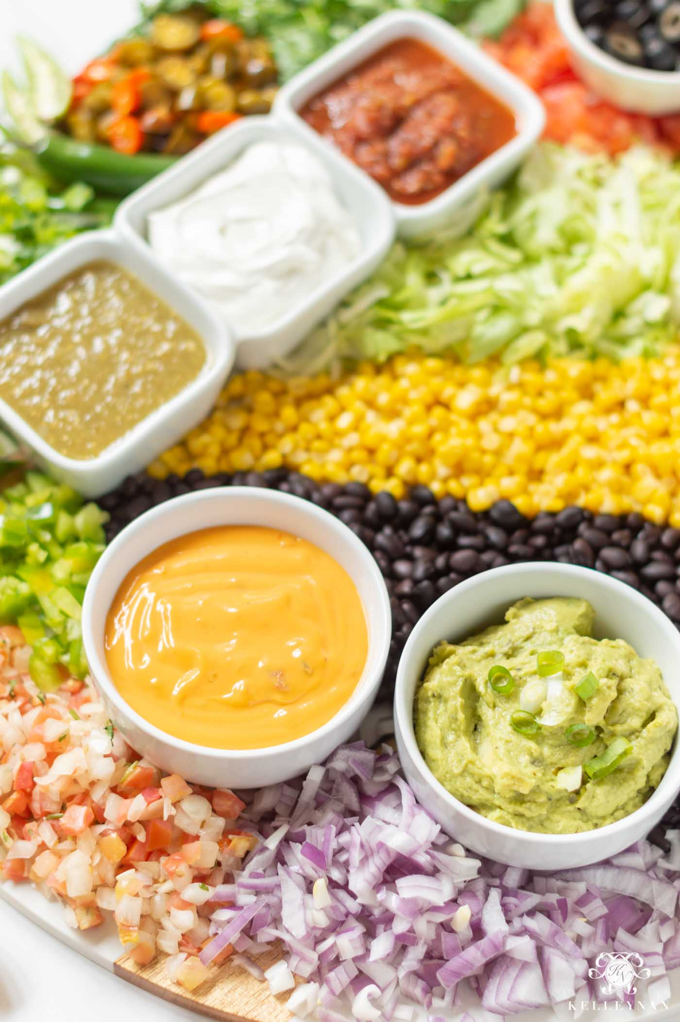 How to Create a Mexican Nacho Food Board