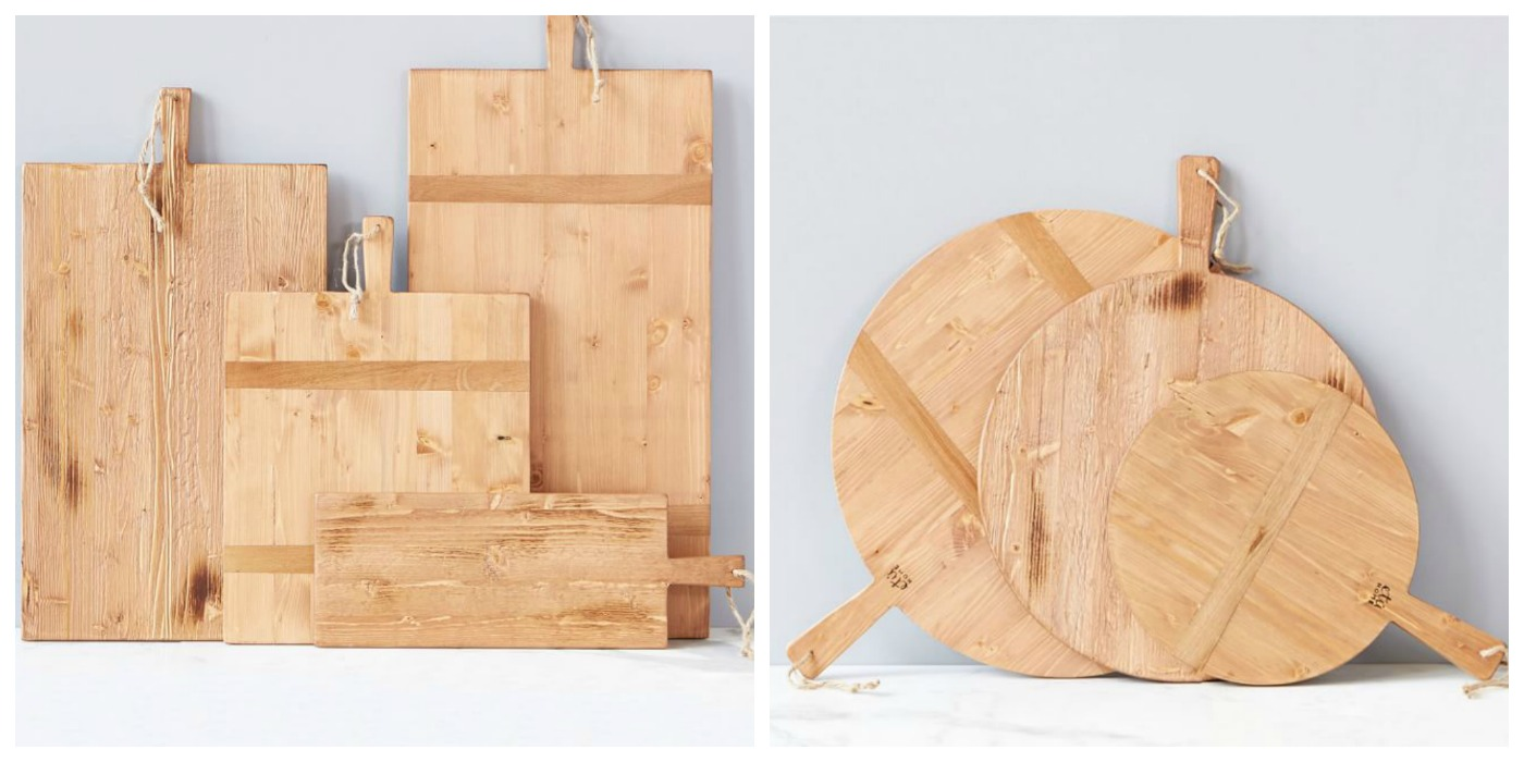 Reclaimed Wood Oversized Kitchen Cheese Boards