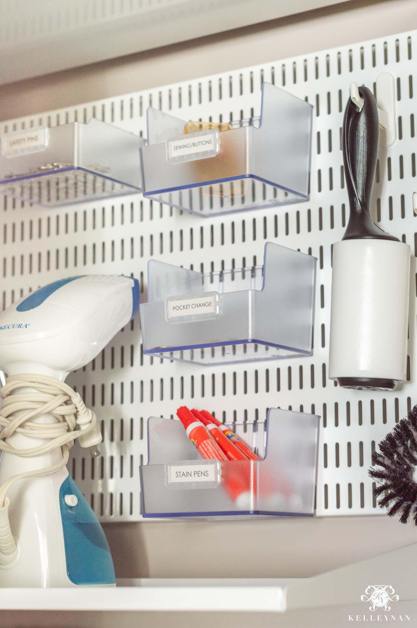 Organized Laundry Room Board
