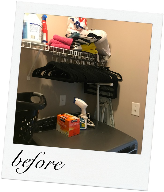 Small Laundry Room Organization Makeover Reveal