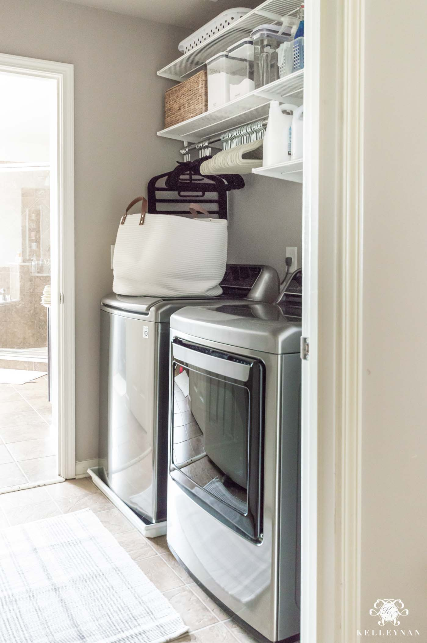 How to Organize a Small Laundry Room Pass Through