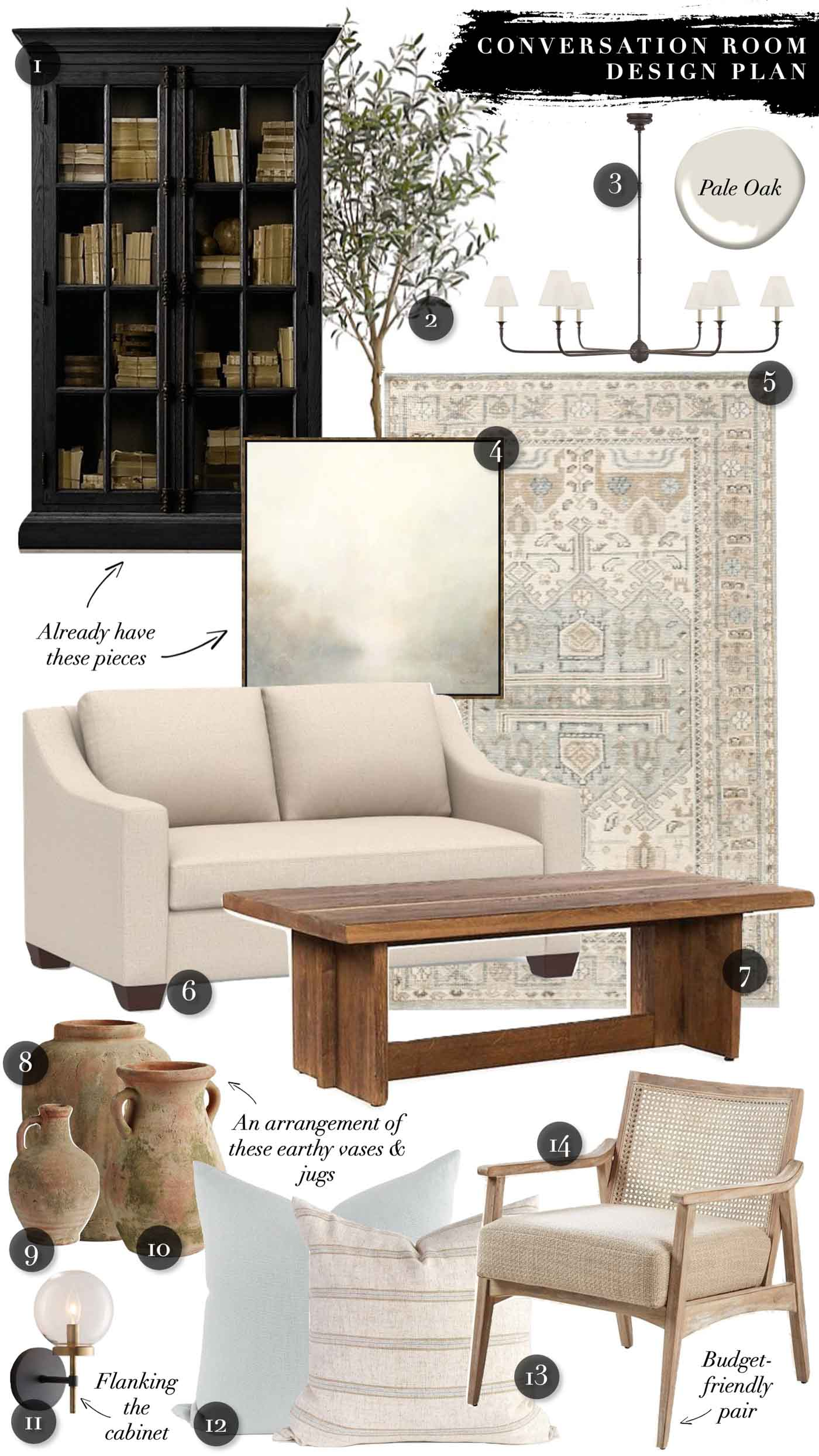 Earthy, Natural Living Room Decor Ideas