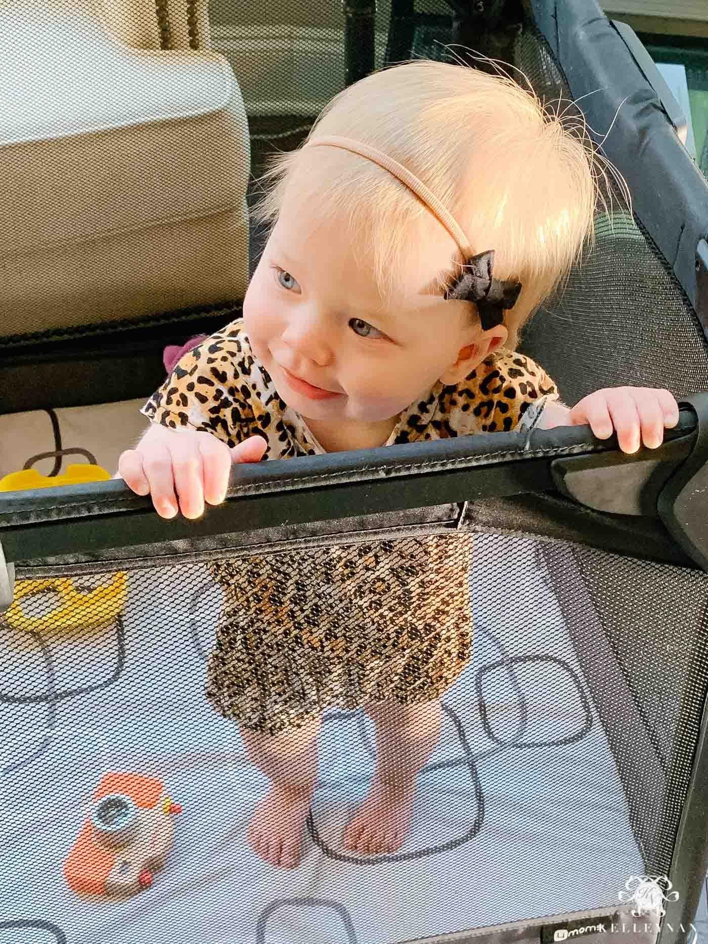 Baby Girl Leopard Romper