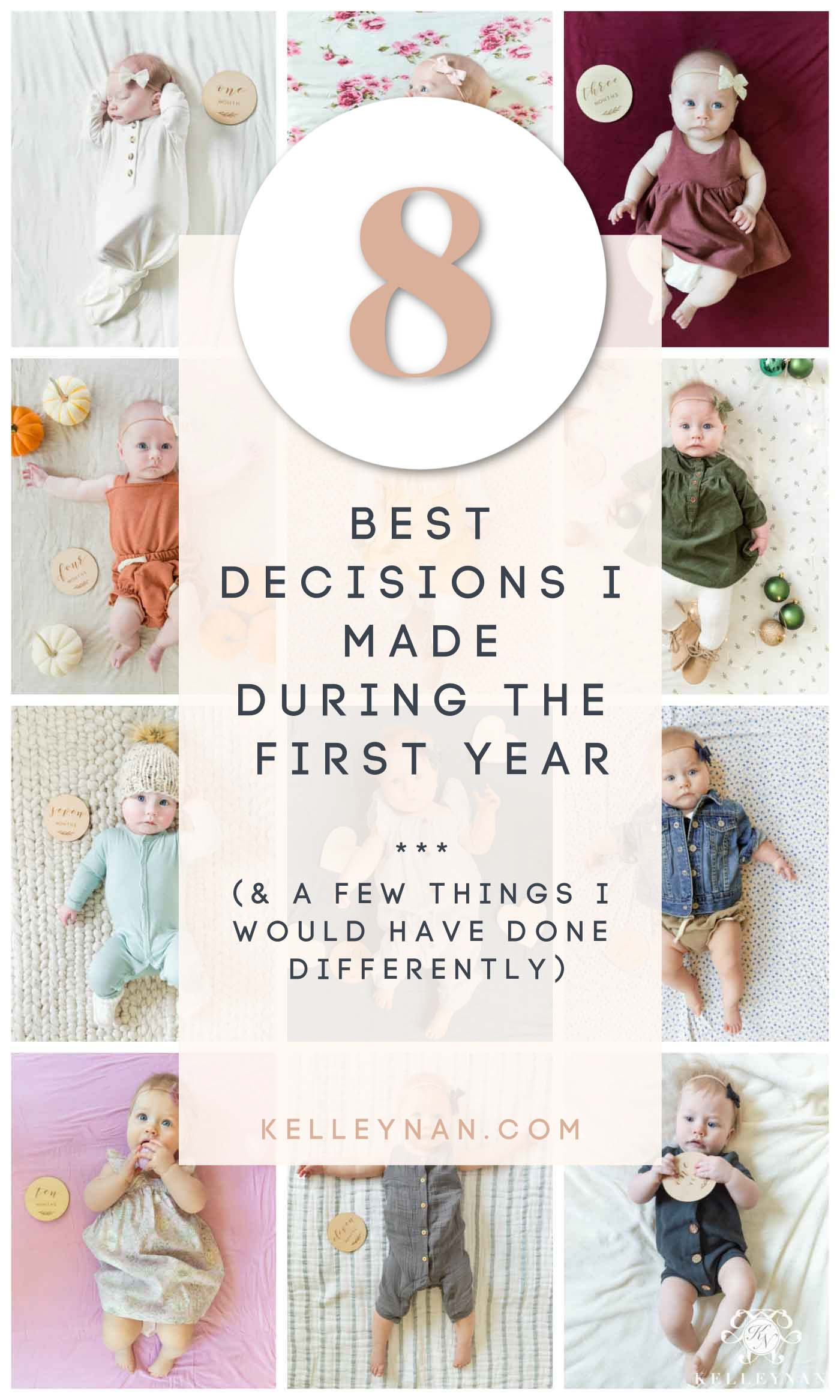 Newborn Baby Parenting -- The 8 Best Decisions I Made