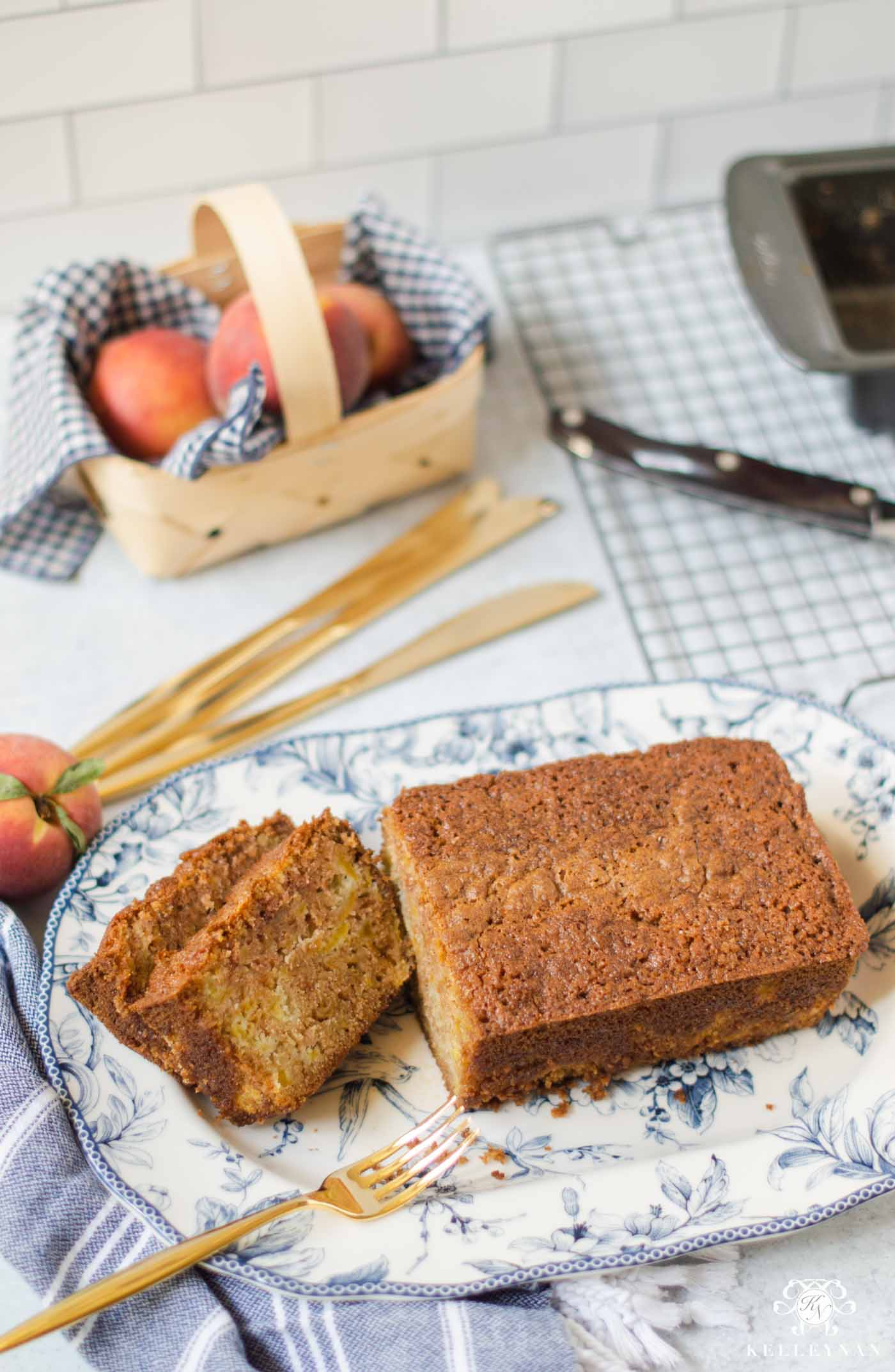 How to Make Delicious Peach Bread