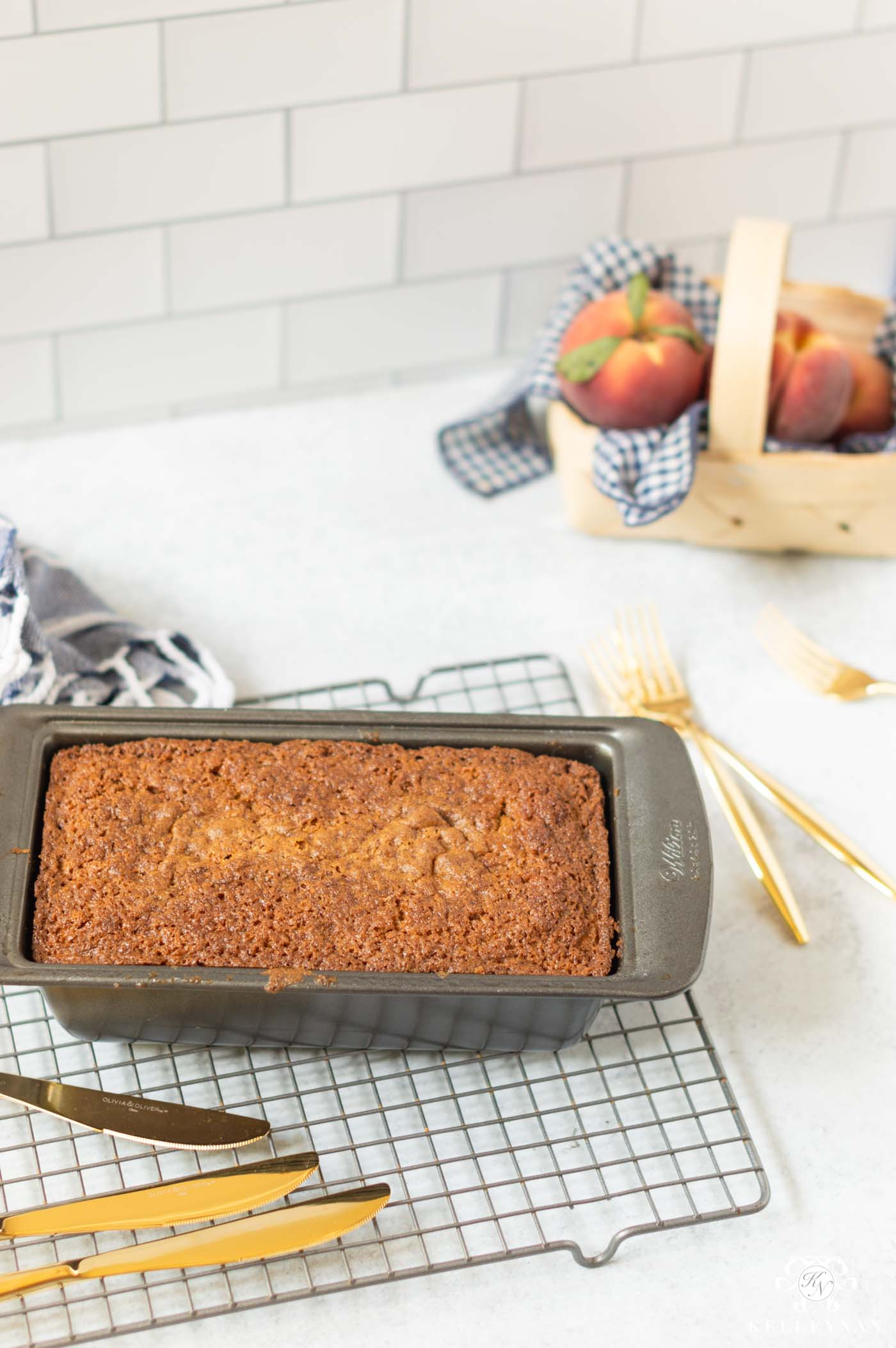 Peach Bread Recipe -- Better than Banana Bread!