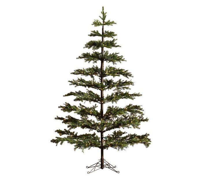 Faux pine christmas tree
