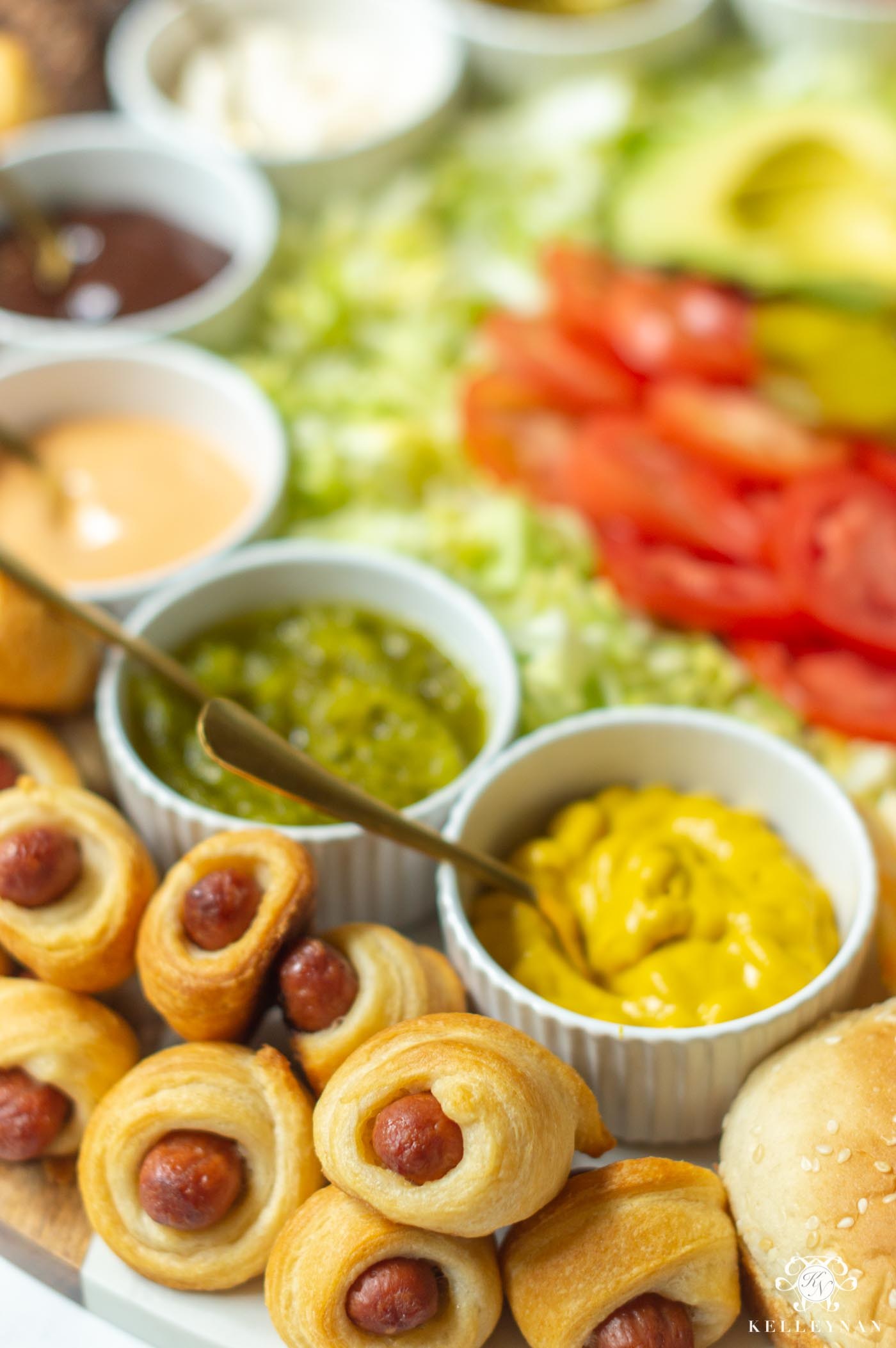 Build Your Own Slider Bar -- A Charcuterie Board with All the Toppings!