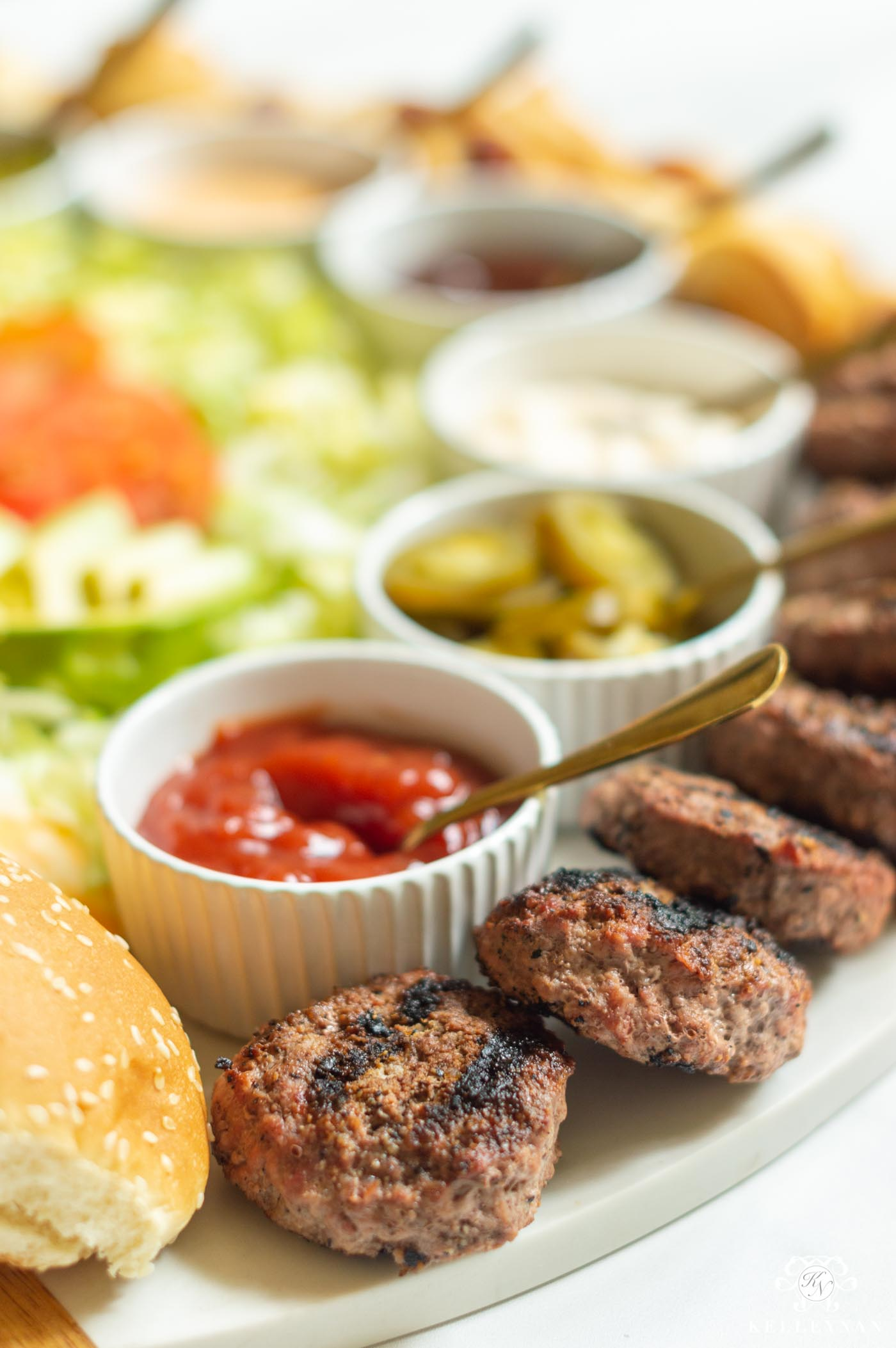 Slider Burger Board for Your Next Cookout!