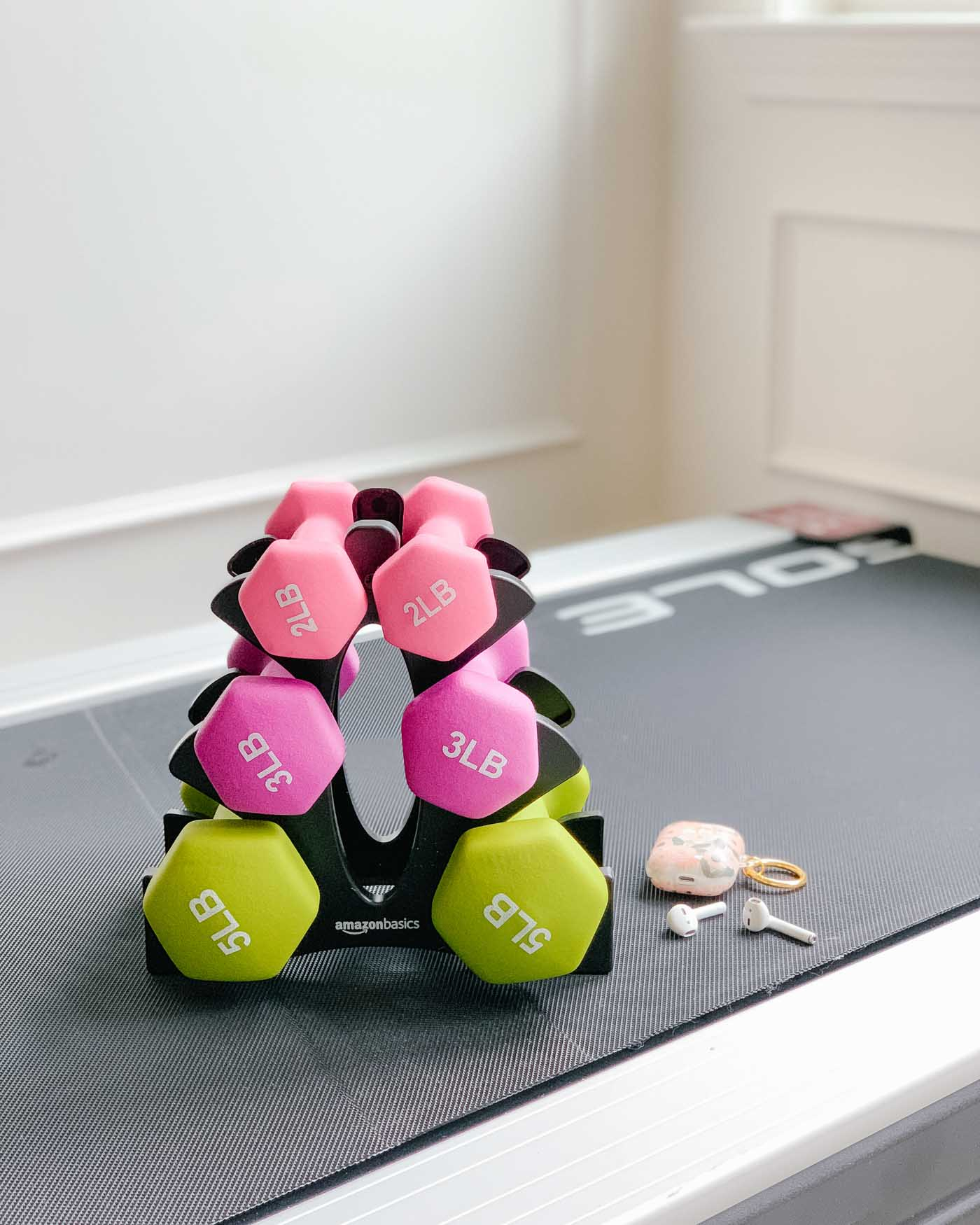 Cute Ladies Dumbbell Set from Amazon