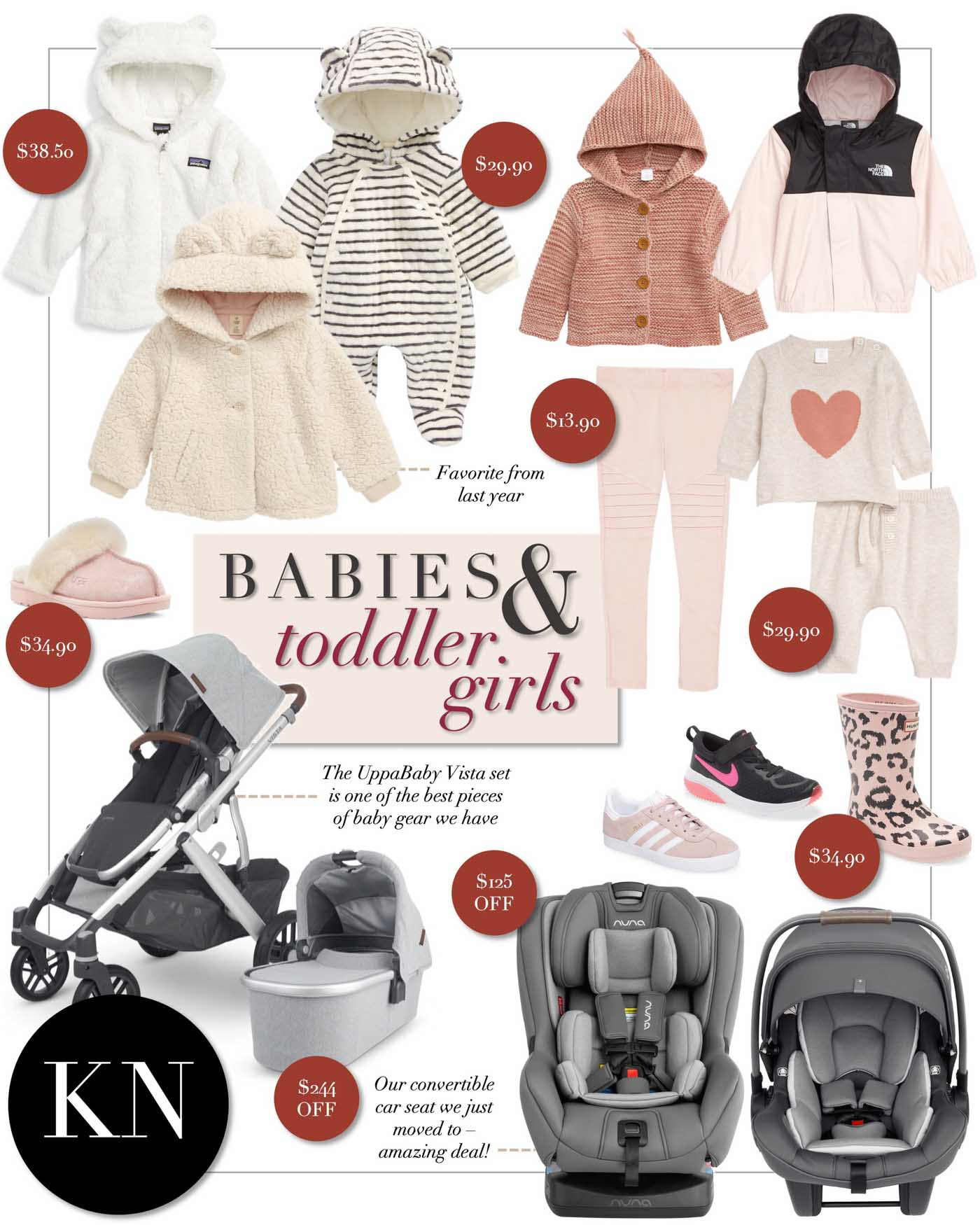 Darling Baby Girl Favorites from the Nordstrom Anniversary Sale 2020