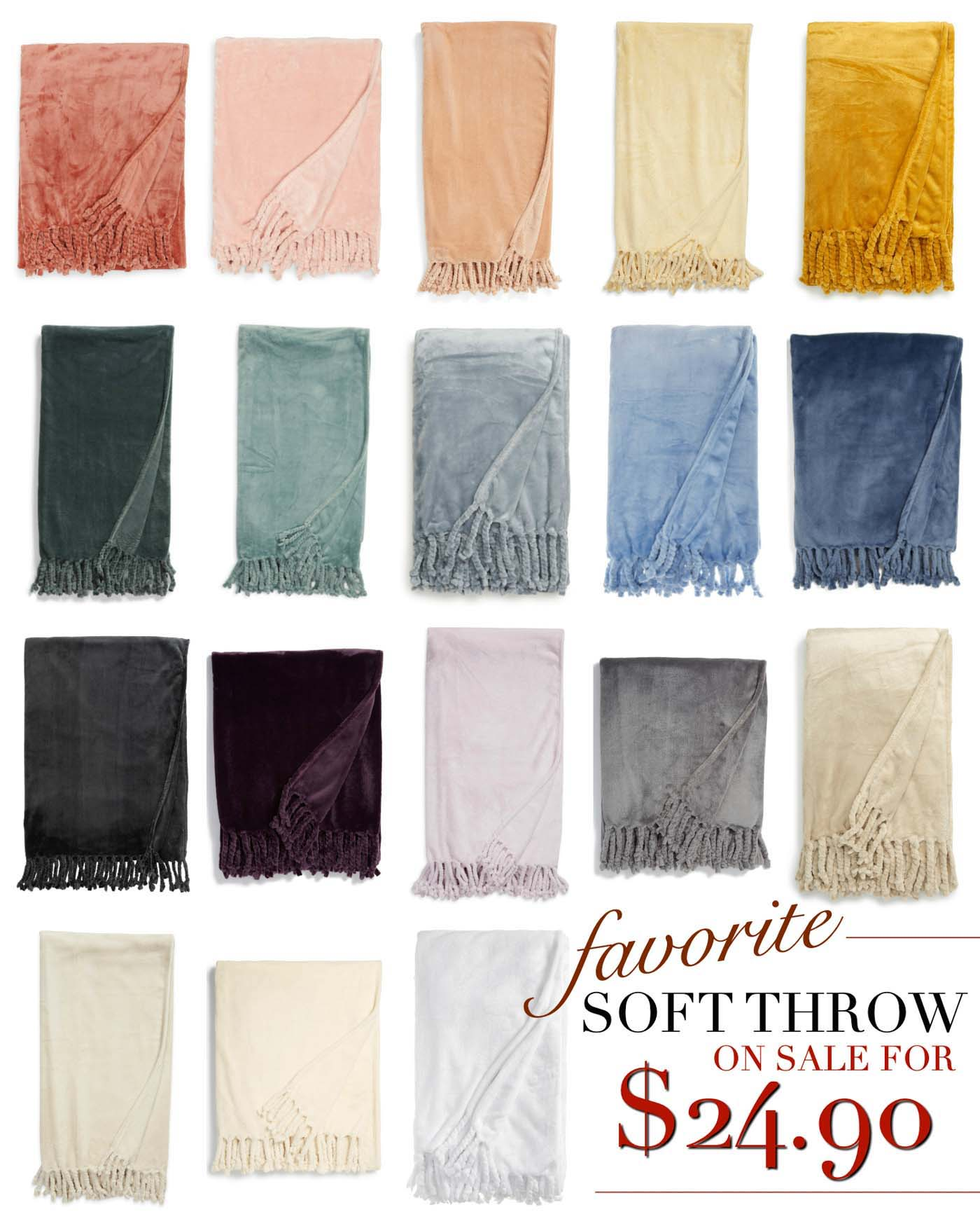 Favorite Cozy Throw for Any Room in the House