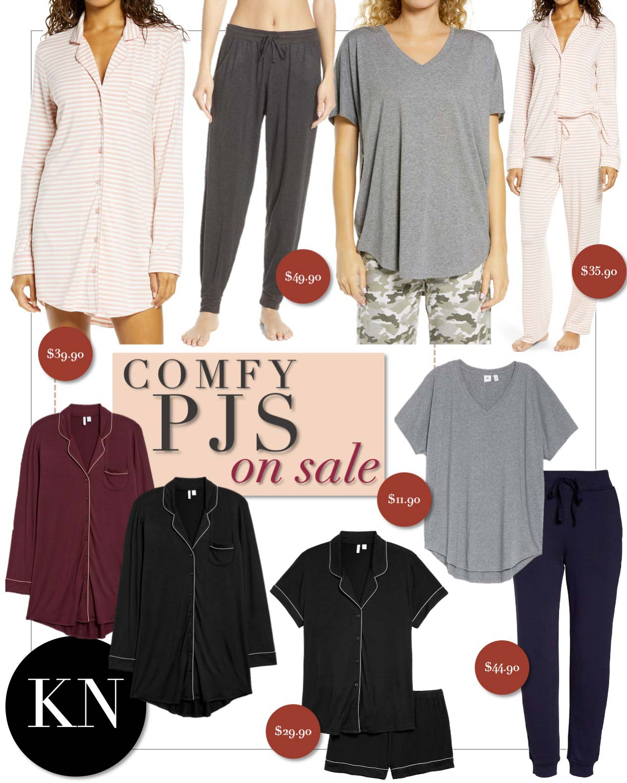 Favorite Cozies and Pajamas from the Nordstrom Anniversary Sale 2020