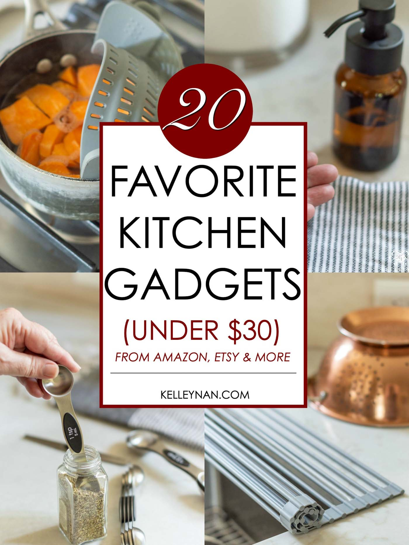 20 BEST KITCHEN GADGETS UNDER $30 FROM AMAZON, ETSY AND MORE!