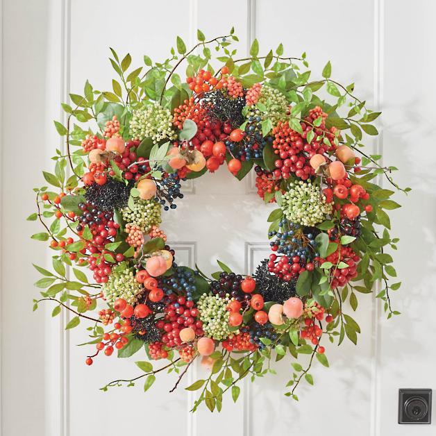 16 Beautiful Fall Wreaths for Front Door