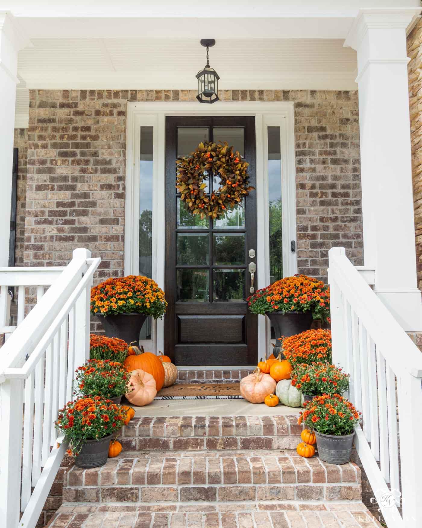 Fall Wreaths for Front Door