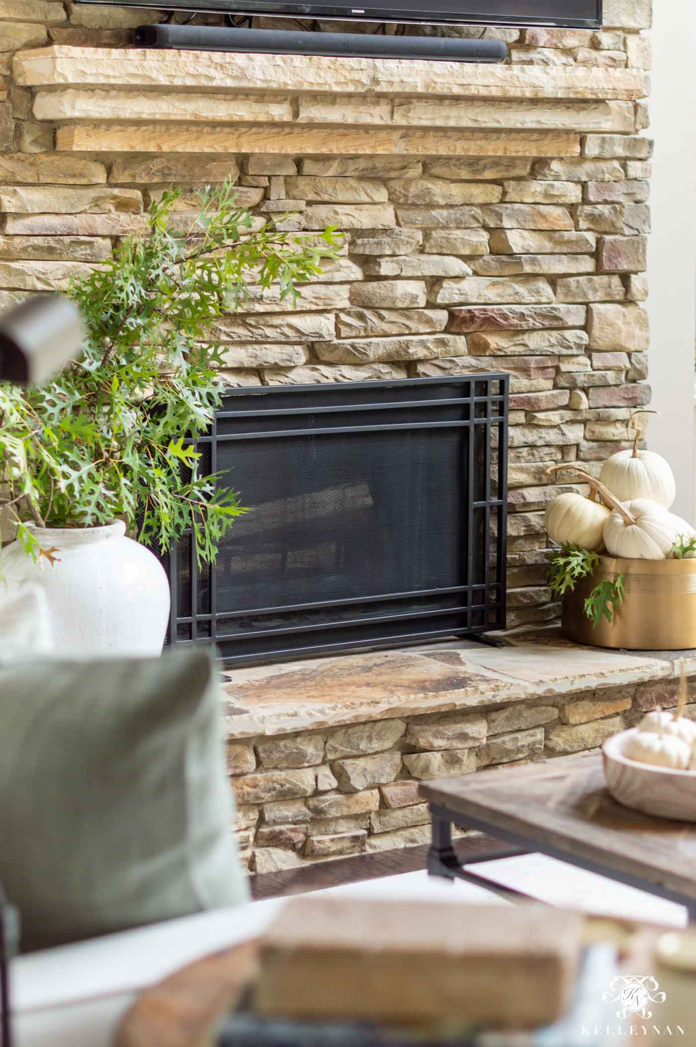 Fall Home Decor Ideas in the Living Room