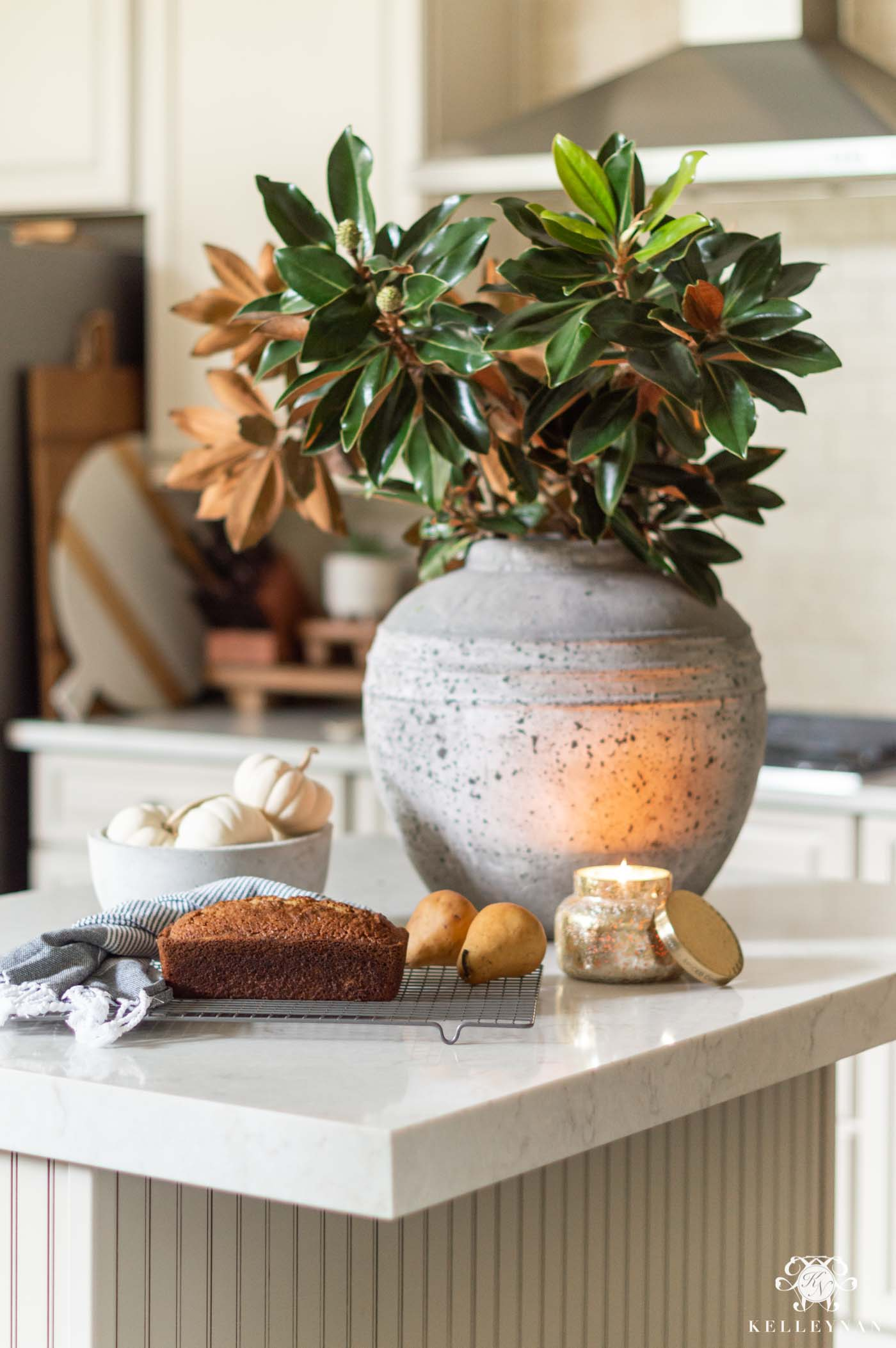 Simple Fall Home Decorating Ideas in the Kitchen