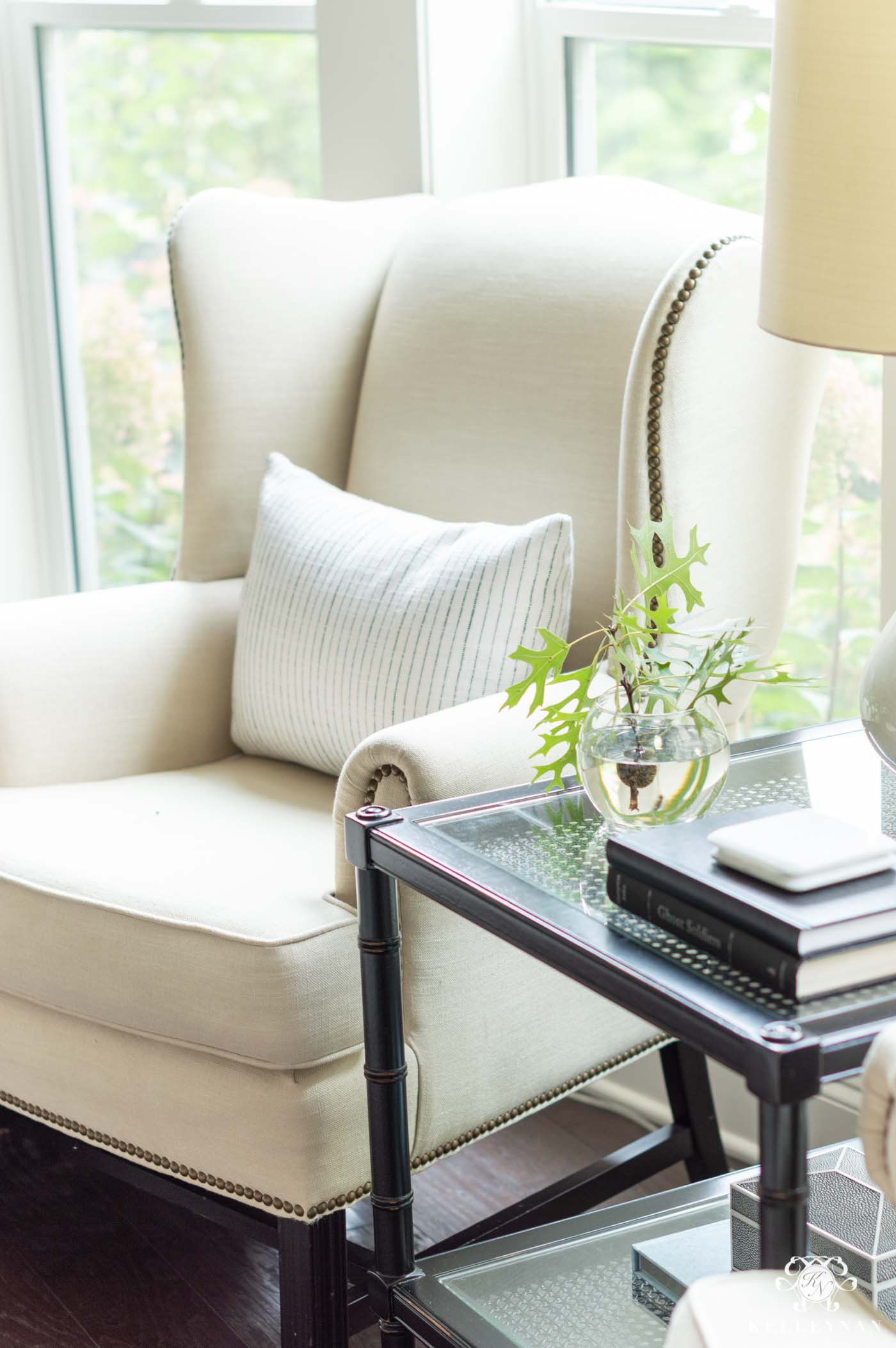 Simple Fall Decorating from the Front Porch to the Living Room