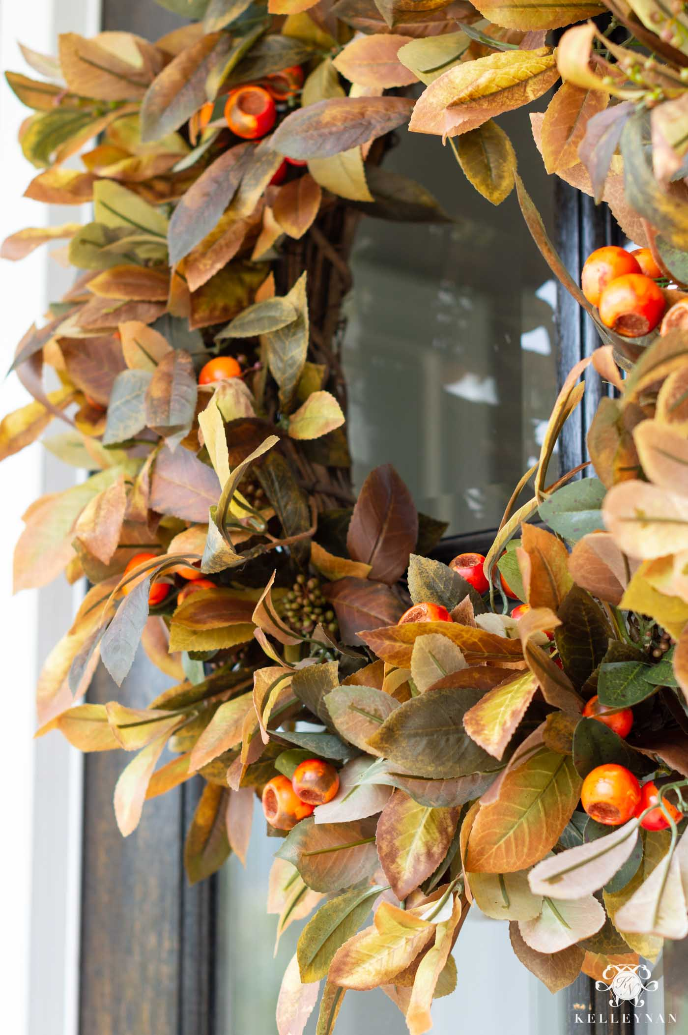 16 Fall Wreaths for the Front Door