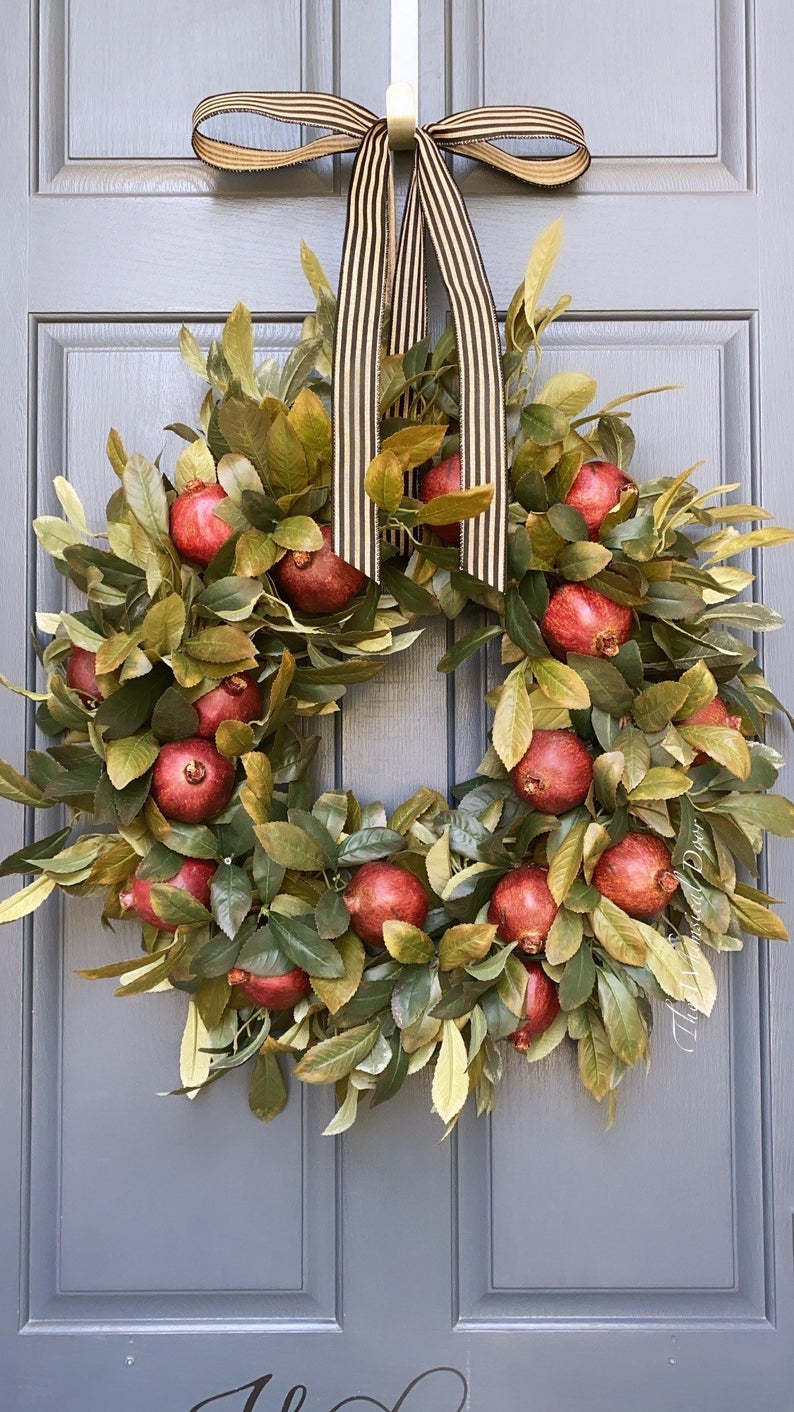 16 Beautiful Fall Wreaths for the Front Door