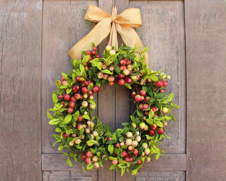 Fall Front Door Wreaths for Autumn