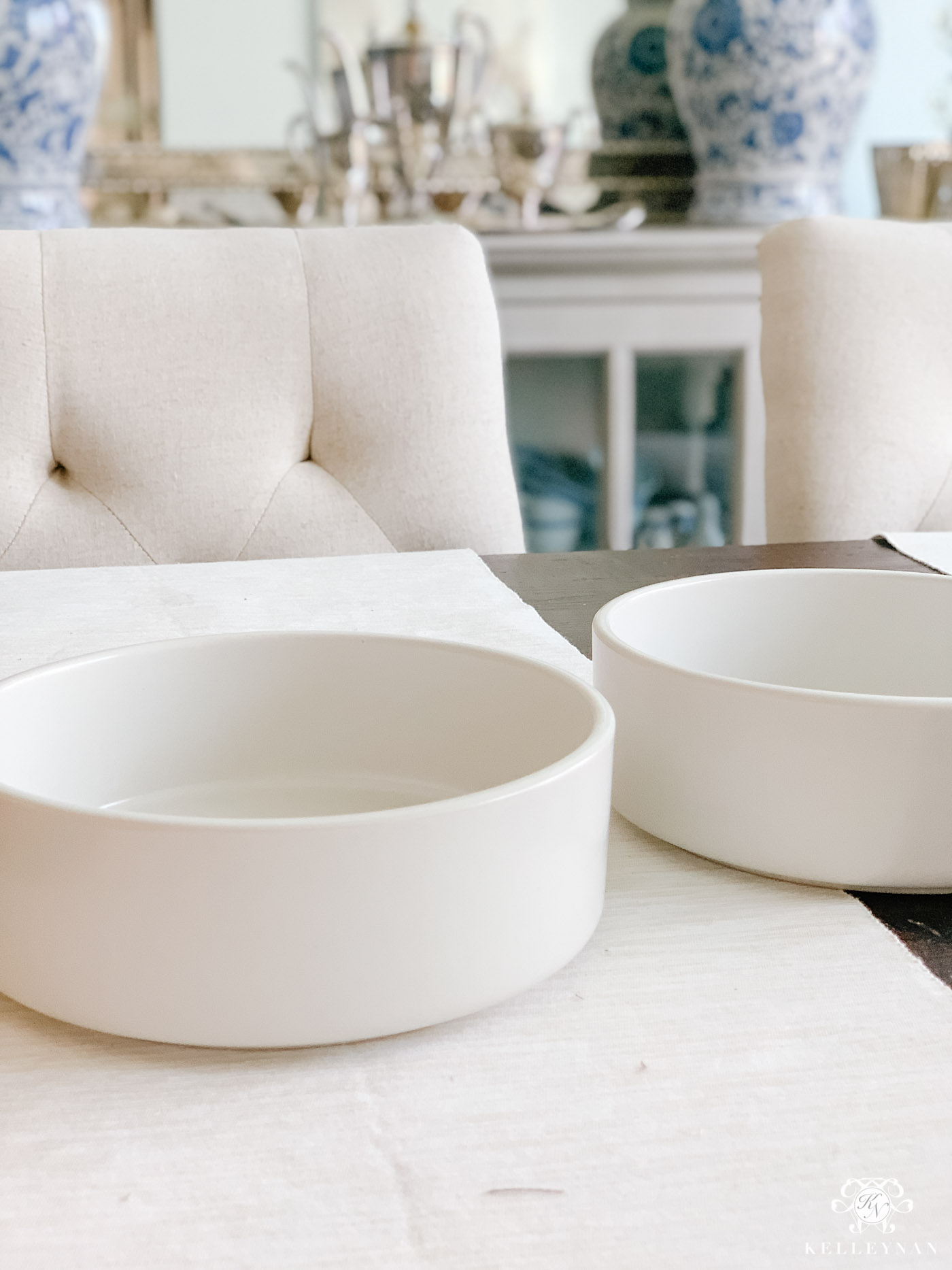 Pretty Dog Bowls for the Kitchen