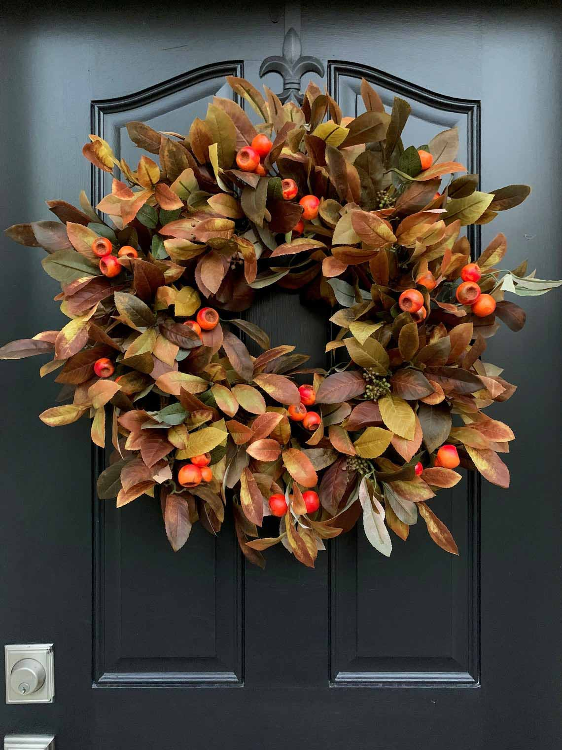 Favorite Fall Wreaths for the Front Door