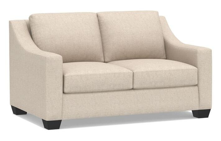 Pottery Barn York Slope Arm Loveseat