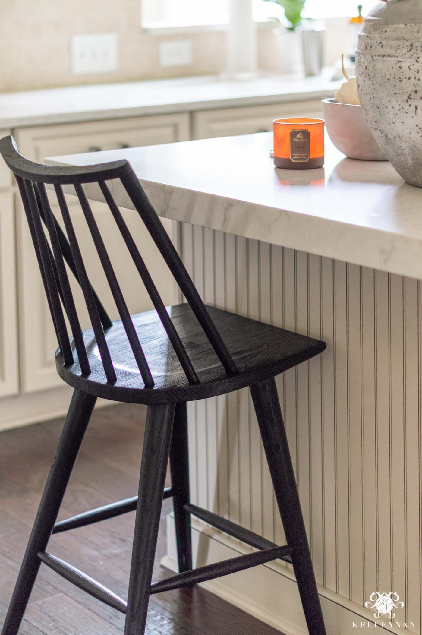Black Windsor Counter Stool, Bar Stool, and Other Windsor Furniture Favorites