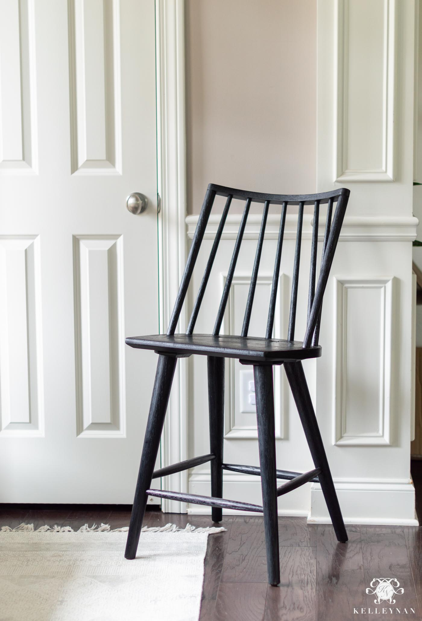 Favorite Black Windsor Barstools, Chairs, and Spindle Furniture Favorites