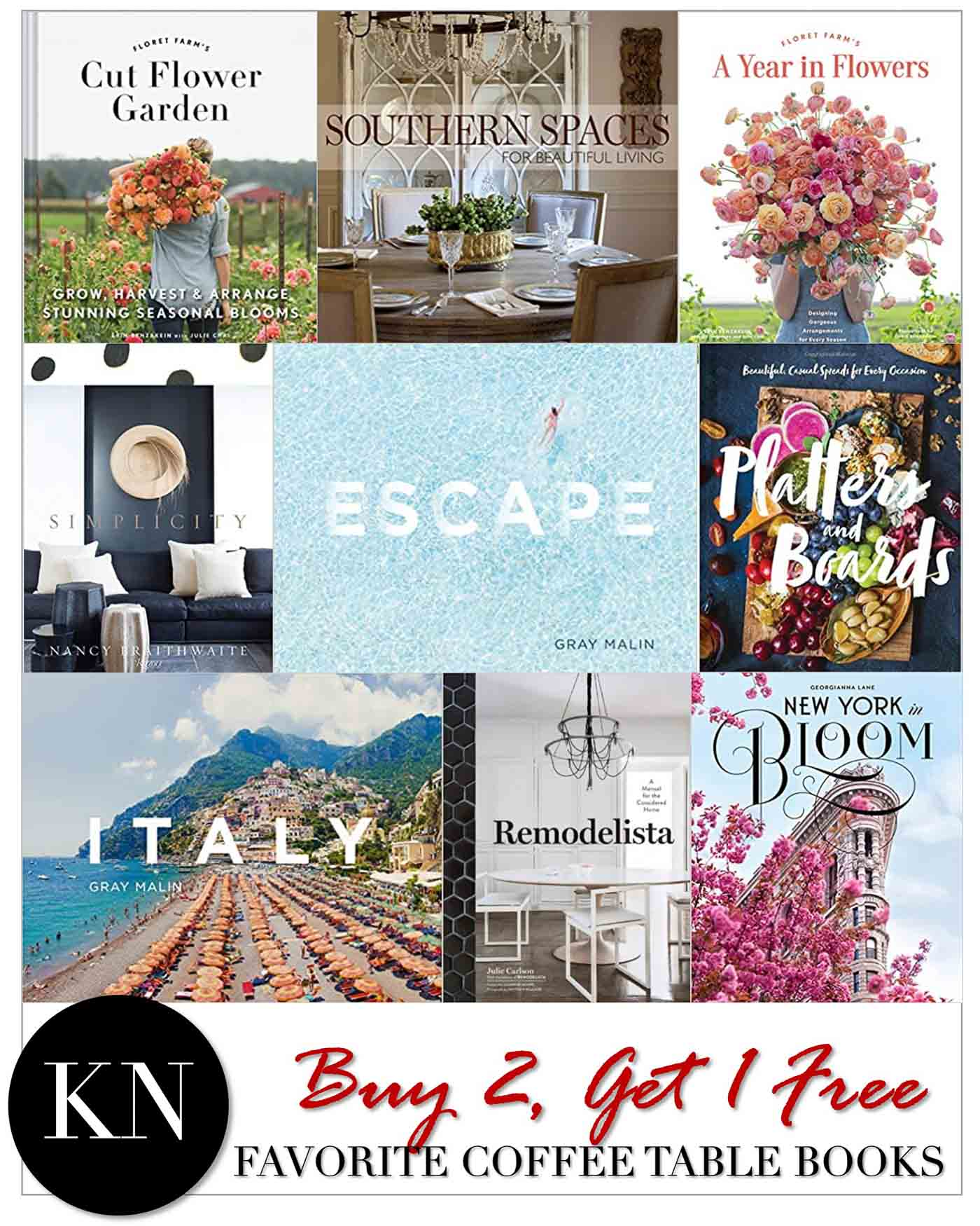 Favorite Coffee Table Books