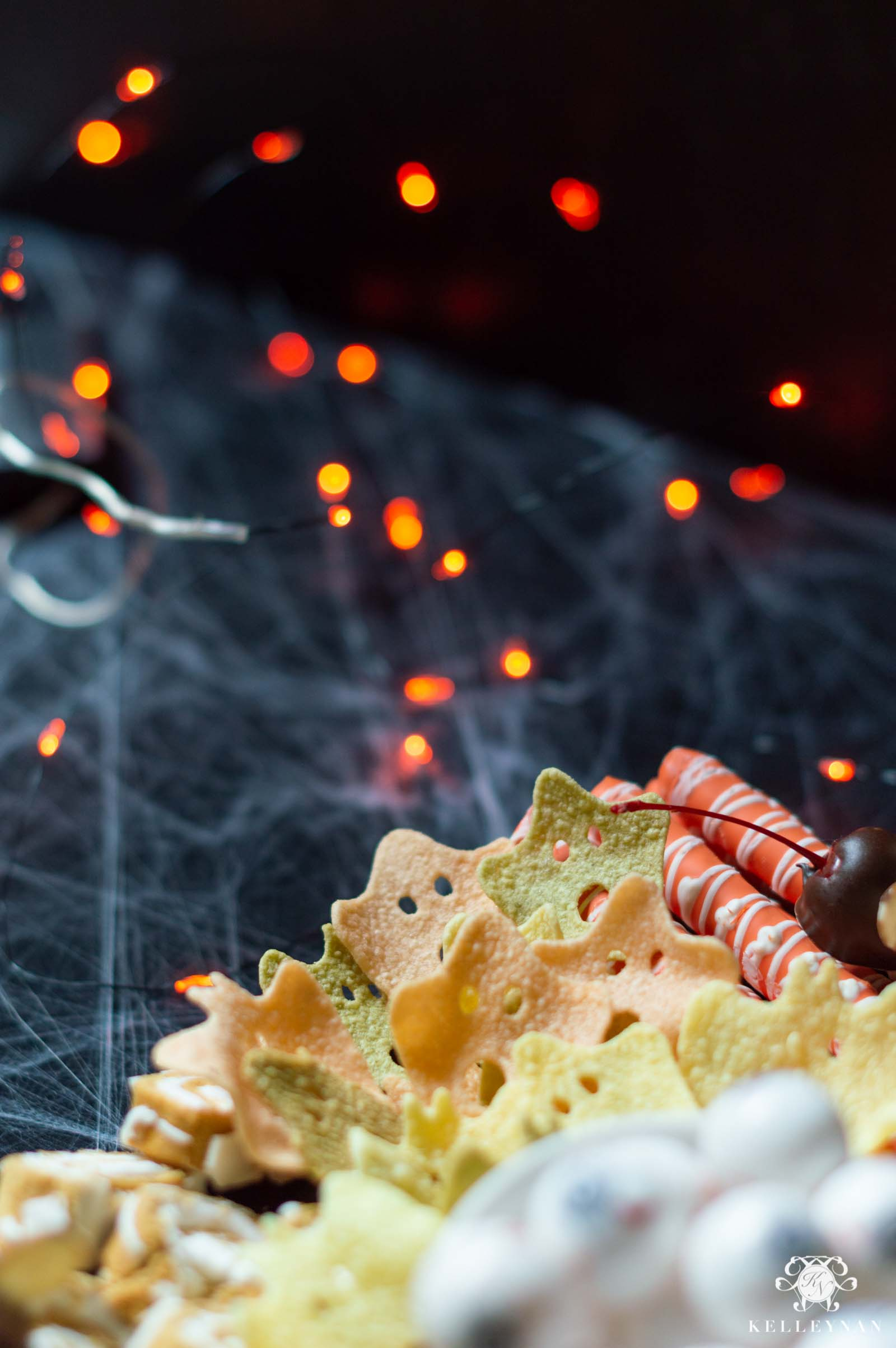 Halloween Charcuterie Board -- Kid Friendly, Perfect for the Family or for a Halloween Party