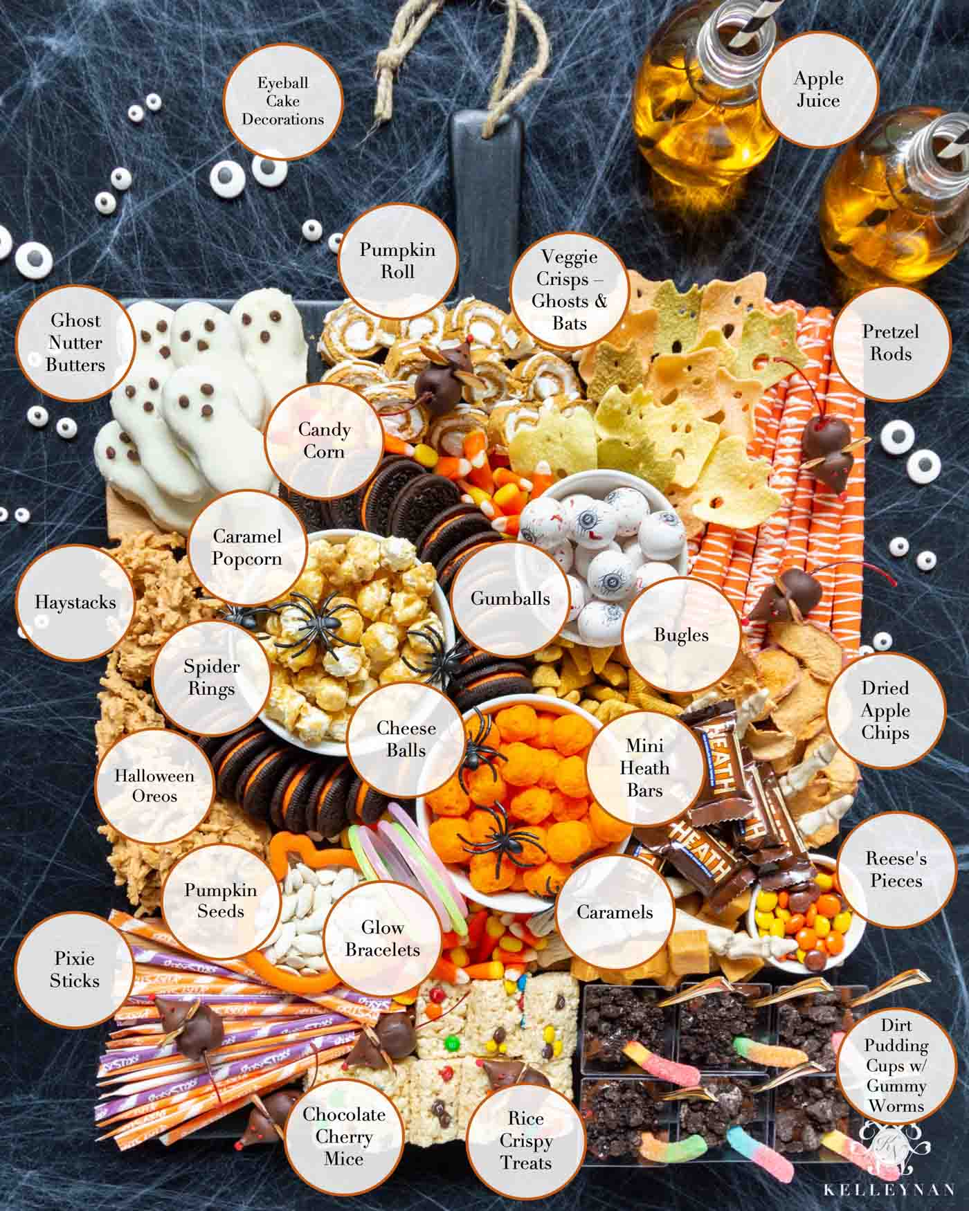 How to Create the Ultimate Halloween Trick or Treat Snack Board