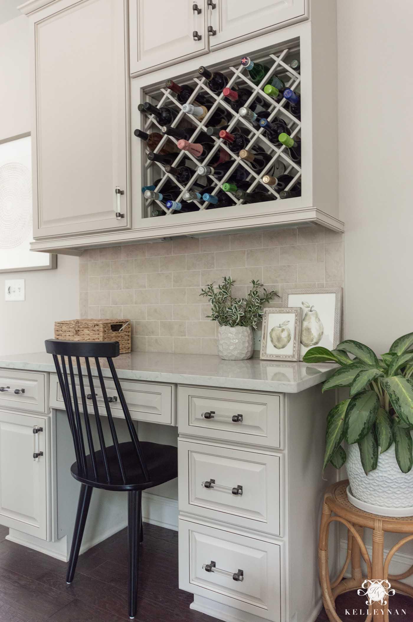 Kitchen Stationery Desk Inspiration