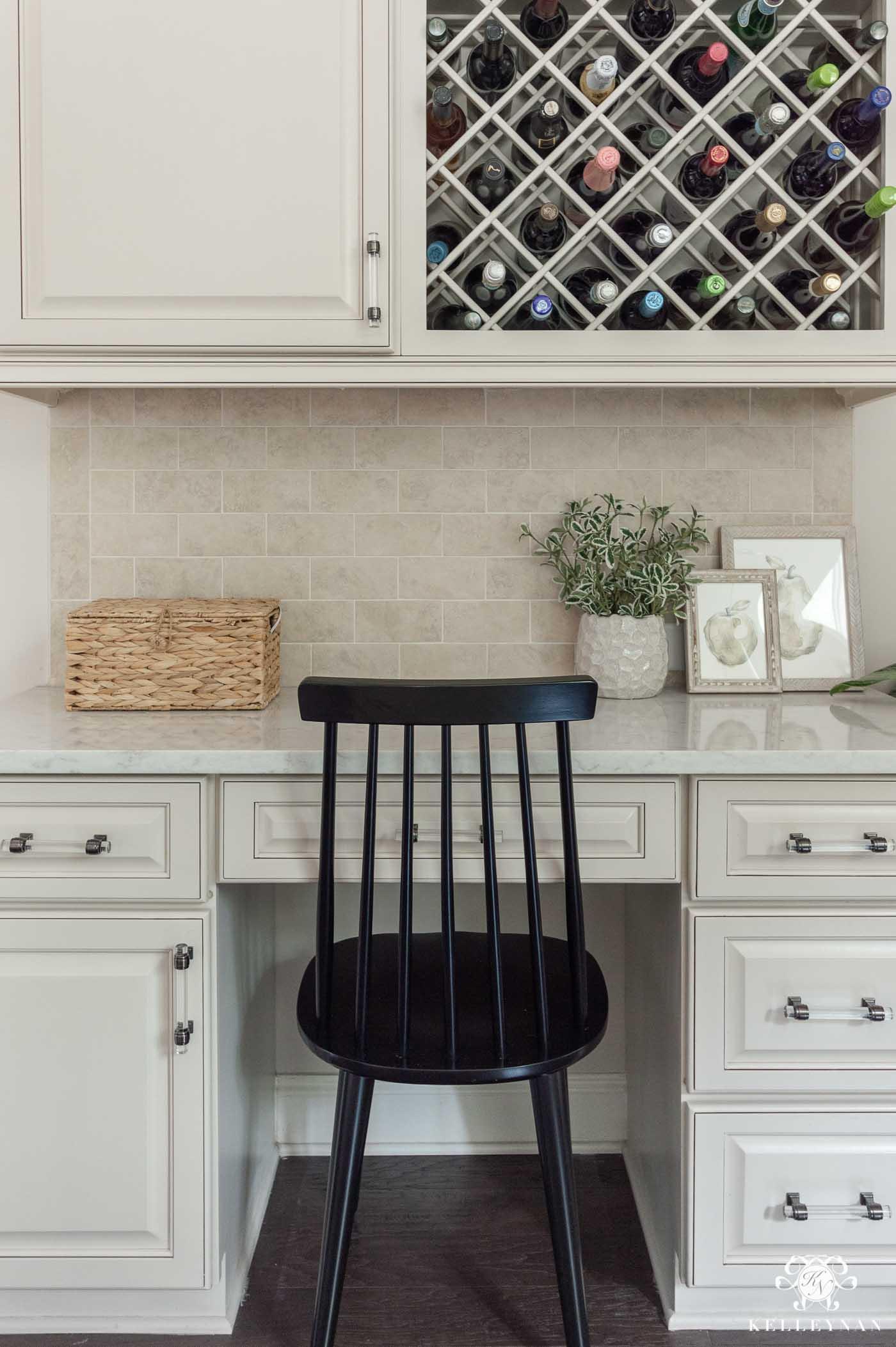 Kitchen Stationery Desk Area Inspiration and Decor Ideas
