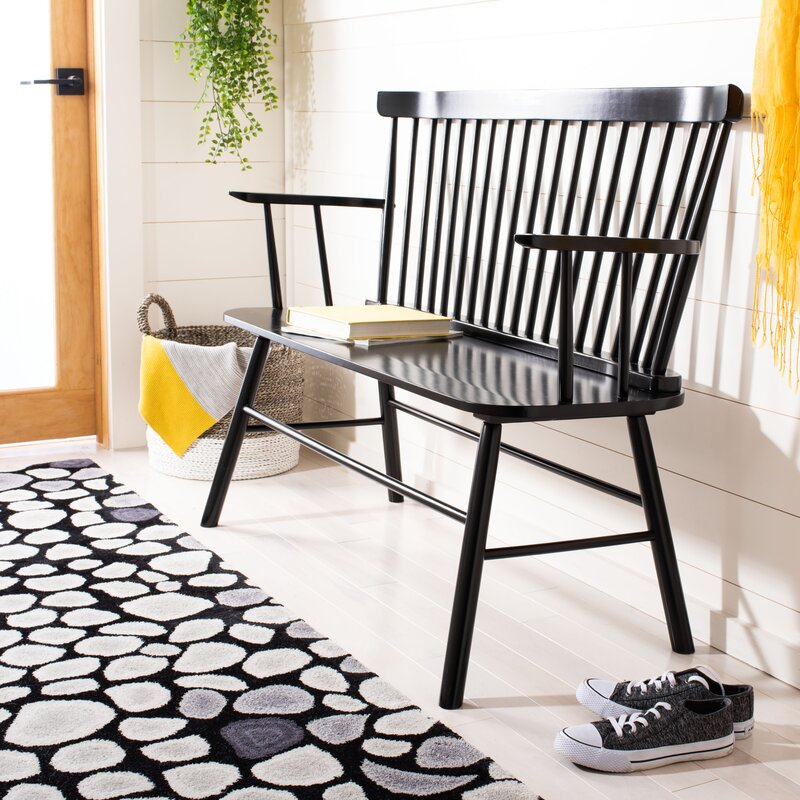 Black Windsor Bench & Other Black Spindle Home Furniture Favorites