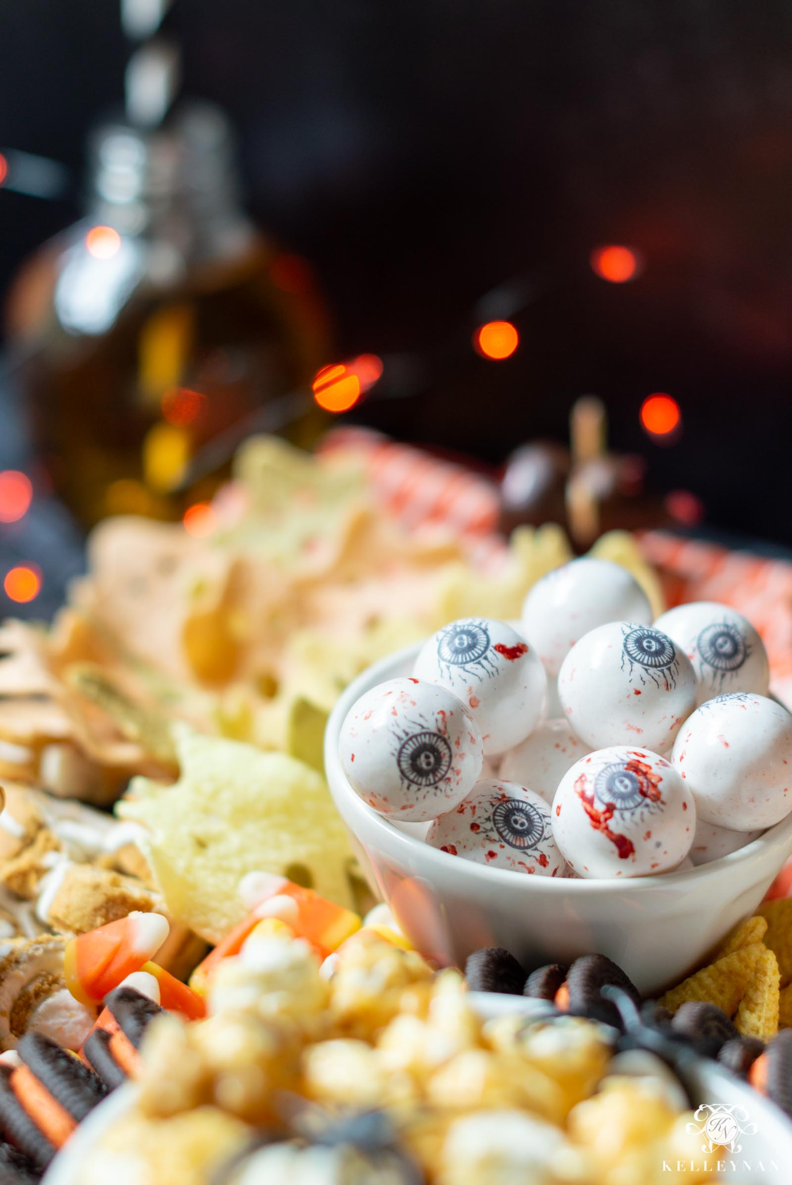 Halloween Snack Board and Candy Ideas for Halloween Parties