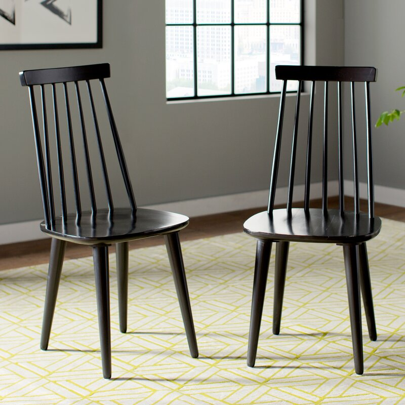 Black Windsor Chairs and Other Spindle Furniture Favorites