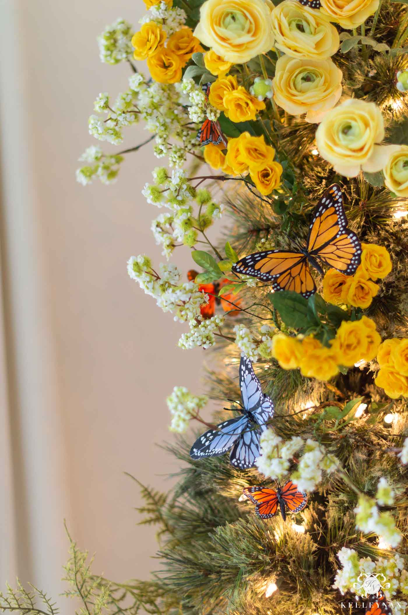 Butterfly Christmas Tree Decor