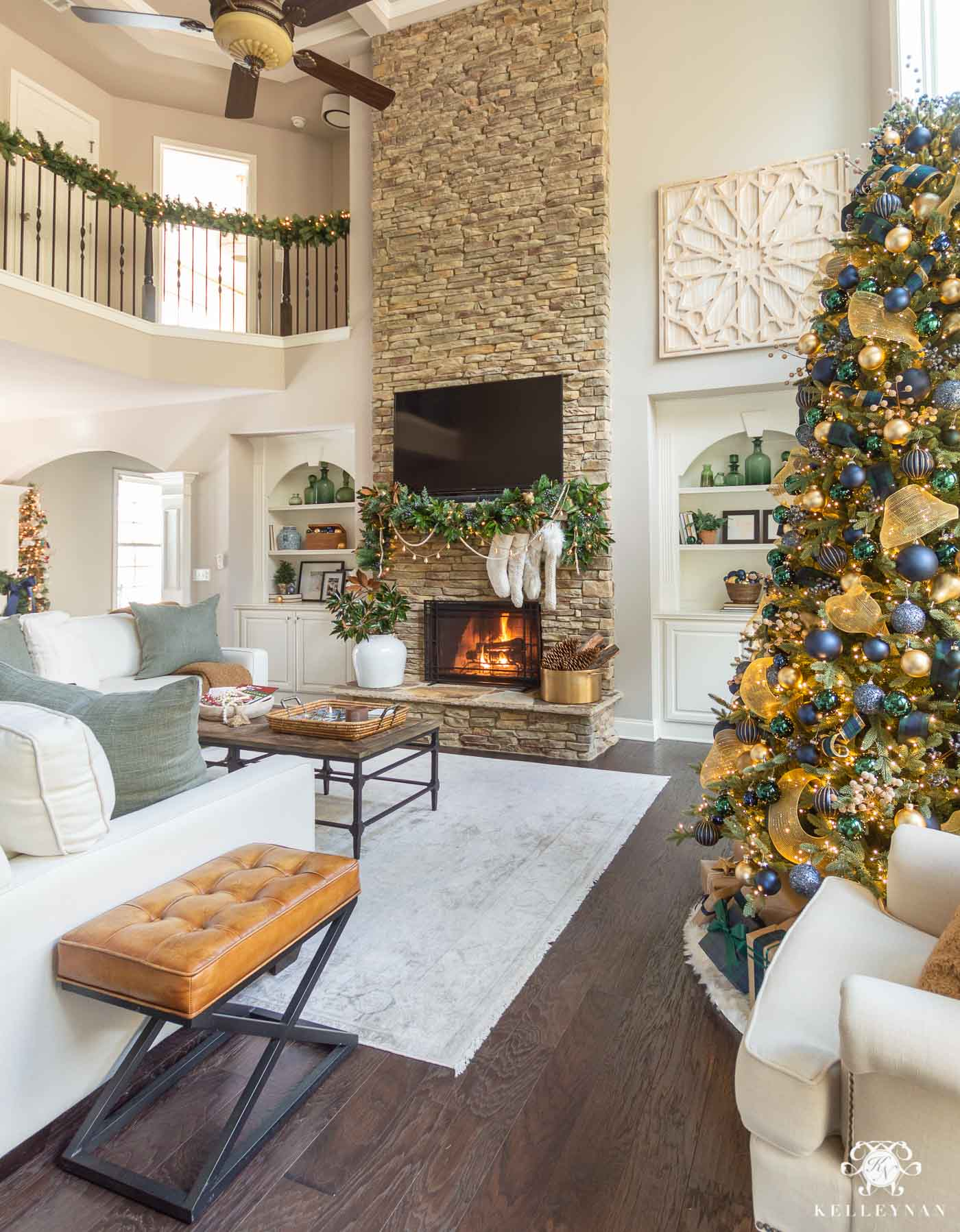 Christmas Home Decor Ideas in the Living Room