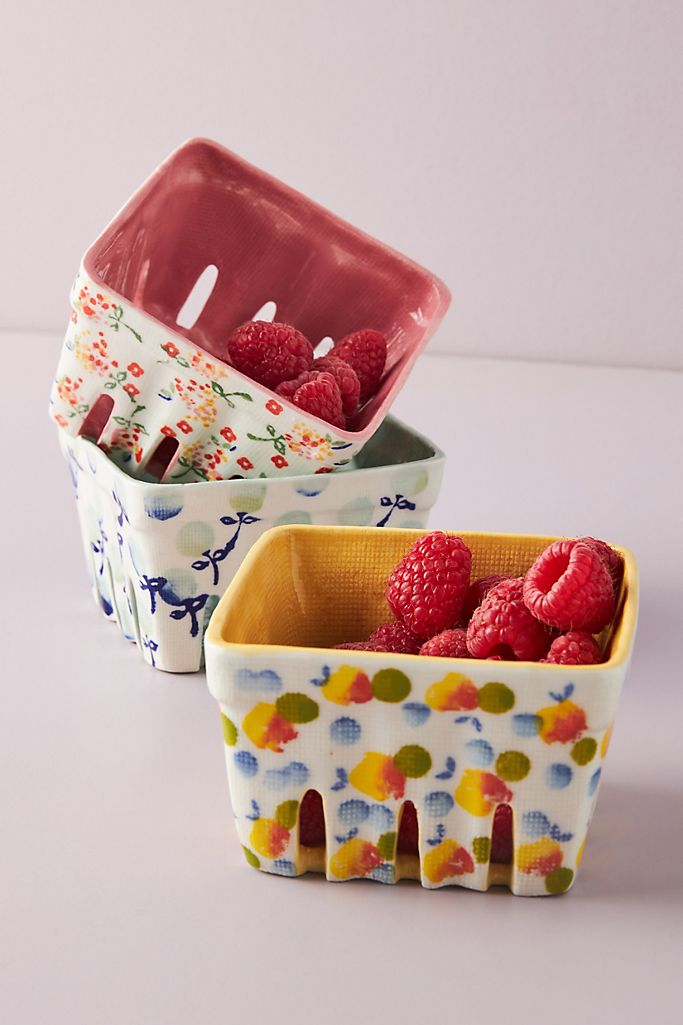 Berry Basket Christmas Gift Ideas