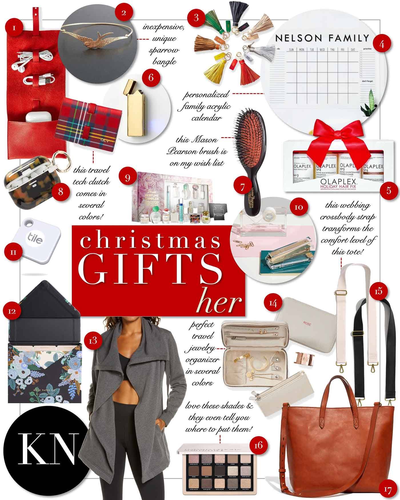 Classic Unique Christmas Gift Ideas For Her Kelley Nan