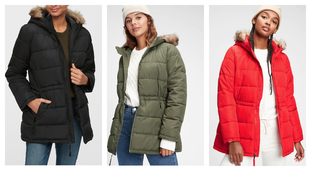 Winter Puffy Jacket with Fur -- Incredibly Inexpensive!
