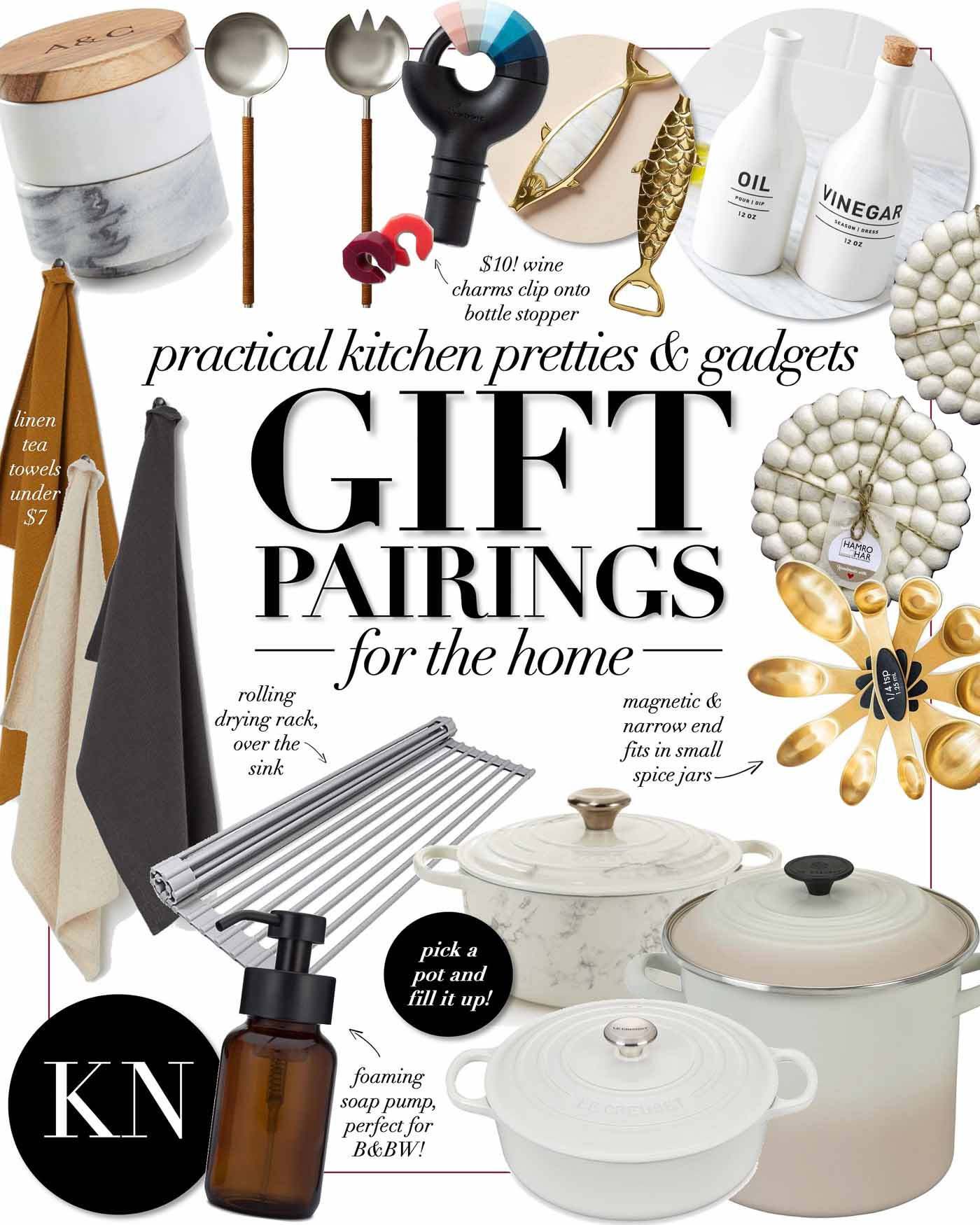 Home Themed Christmas Gift Ideas for the Kitchen